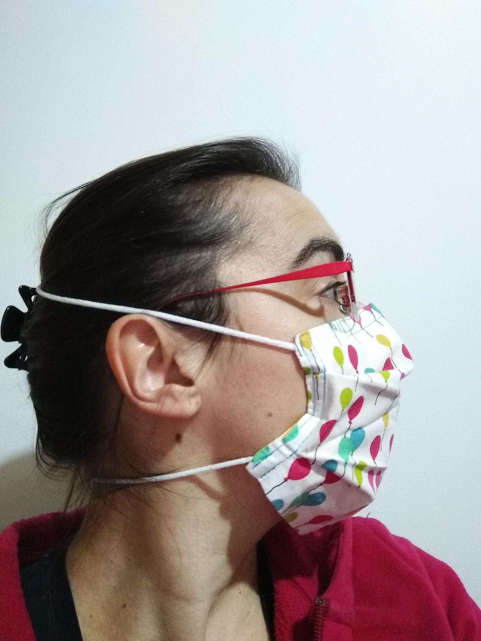 Masque STANDARD ADULTE liens derrière la tête