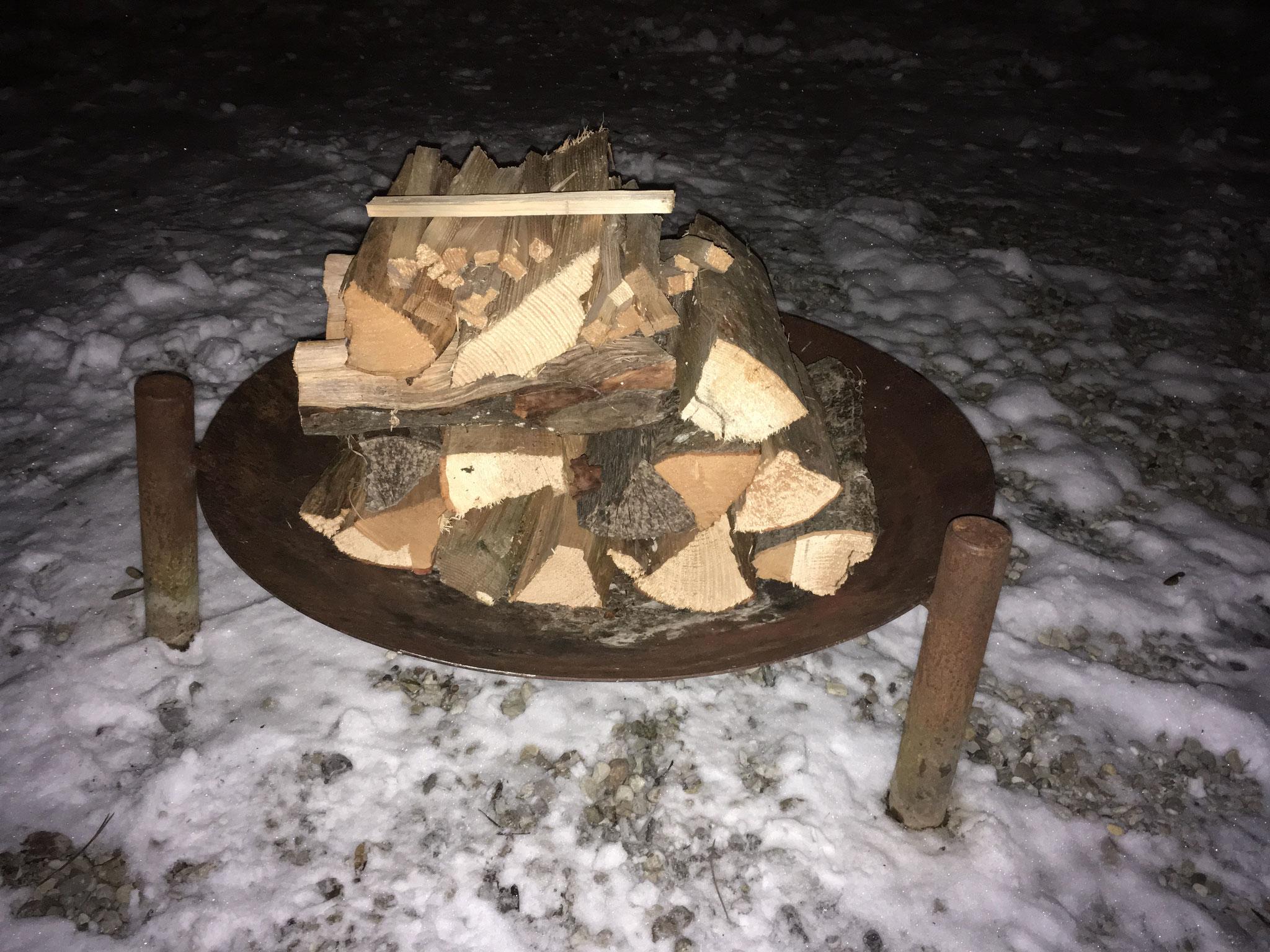Feuerstelle draussen
