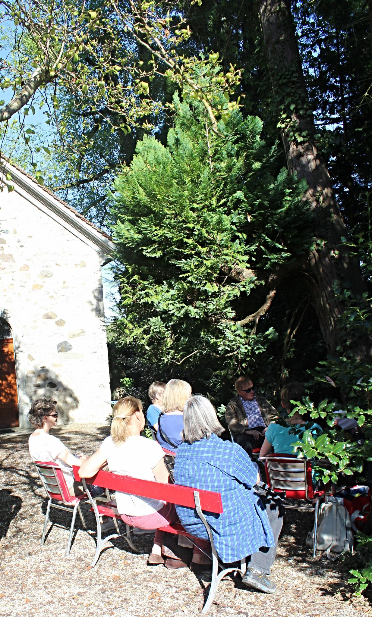 Poesienachmittag im Schatten der Klostertannen