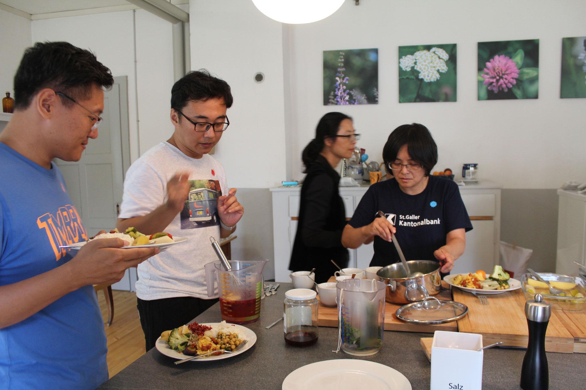 Gäste aus Shanghai