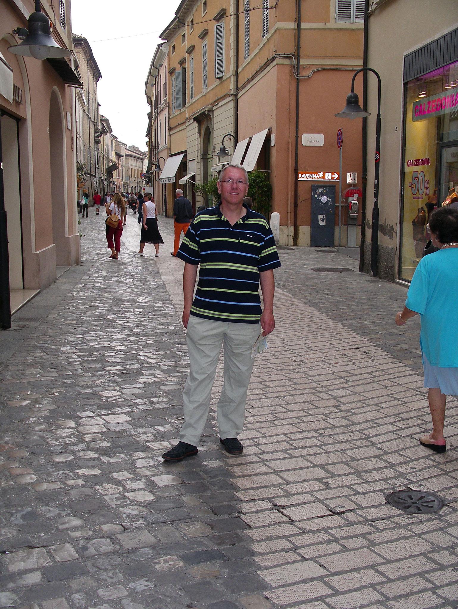in Ravennas Altstadt