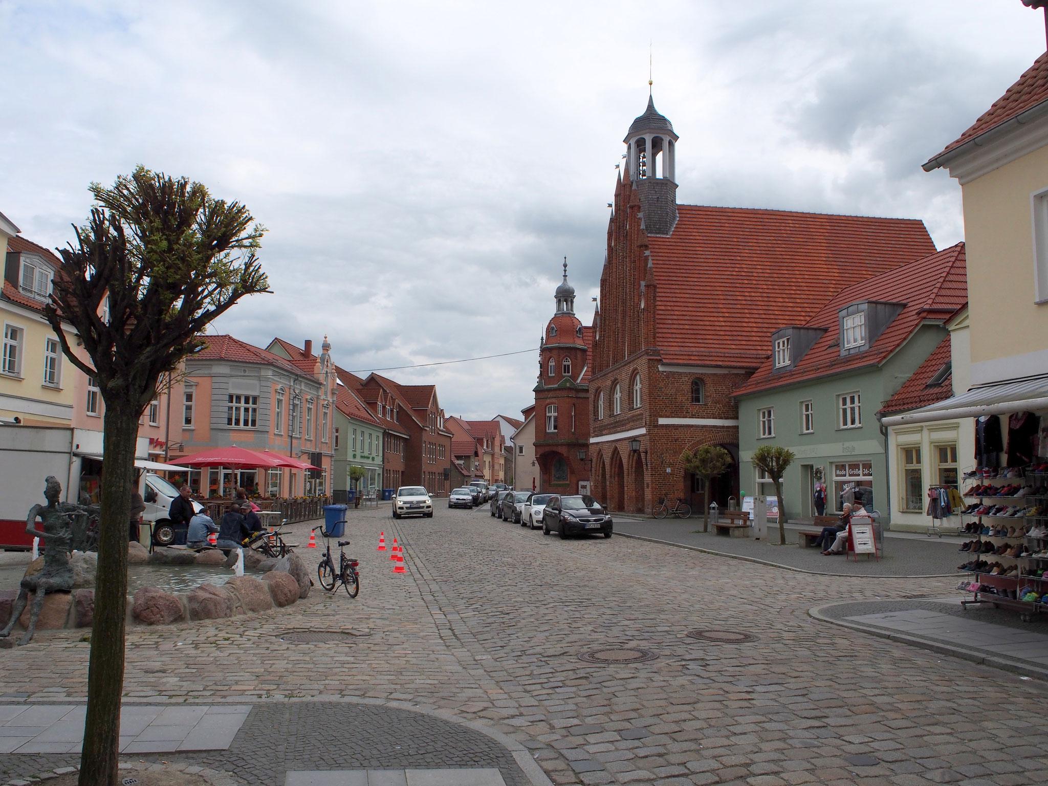 Markt von Grimmen