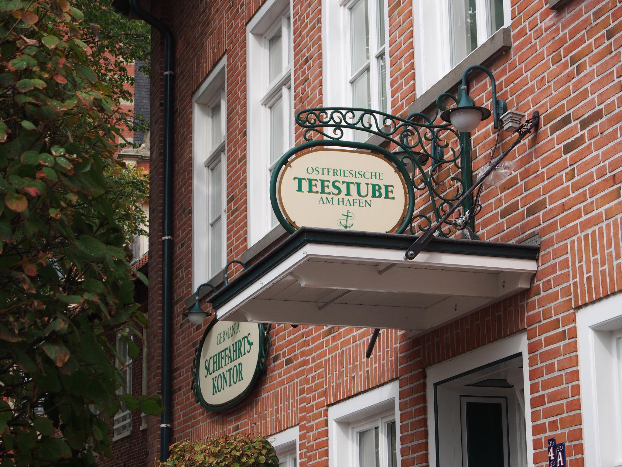 Teestube in Leer/Ostfriesland