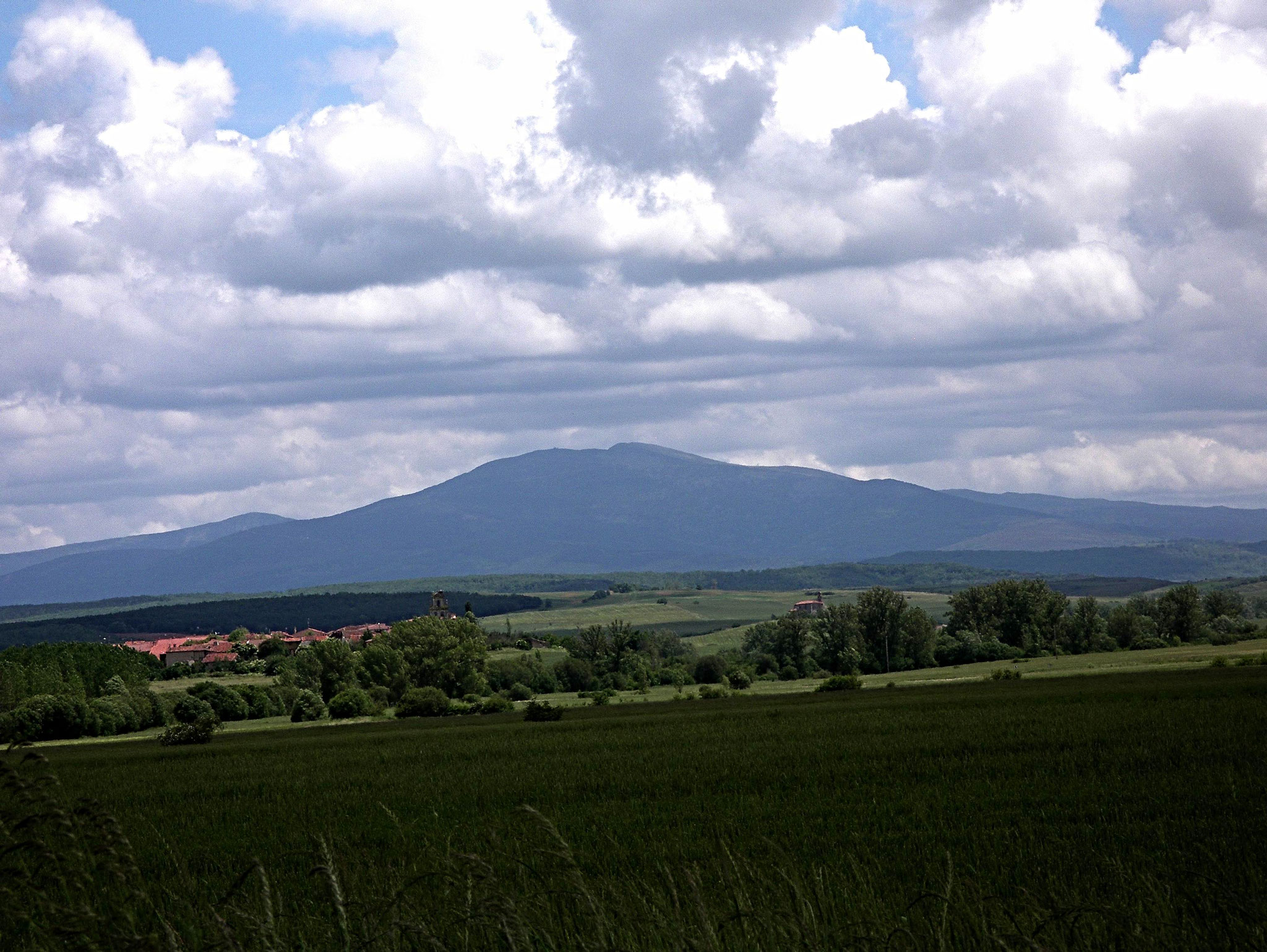 die Region in der Nähe von Burgos