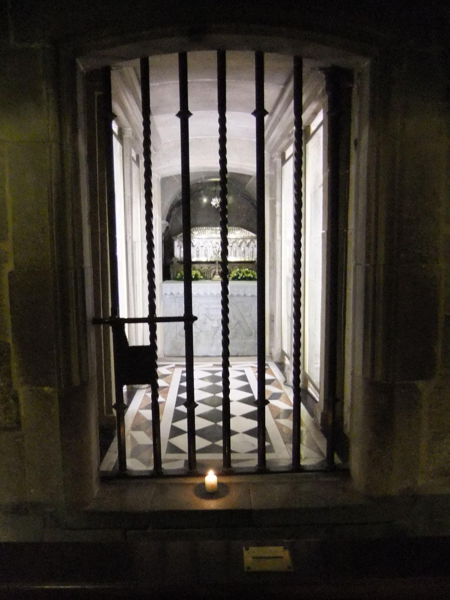 das Apostelgrab in Santiago de Compostela