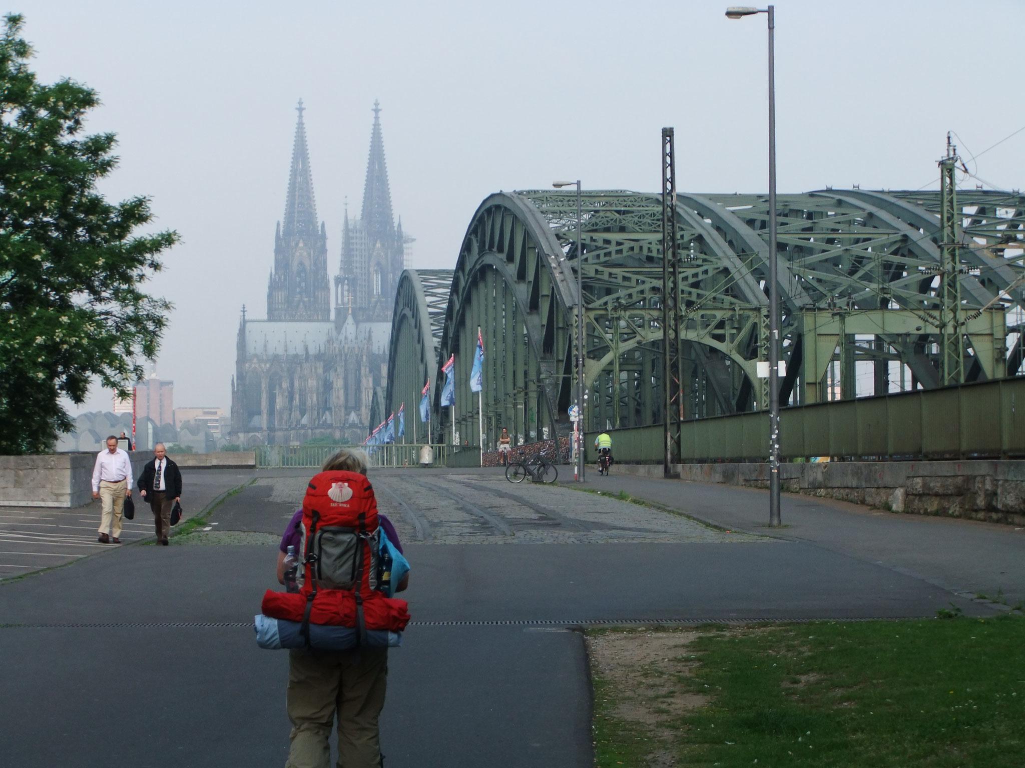 den Kölner Dom im Blick
