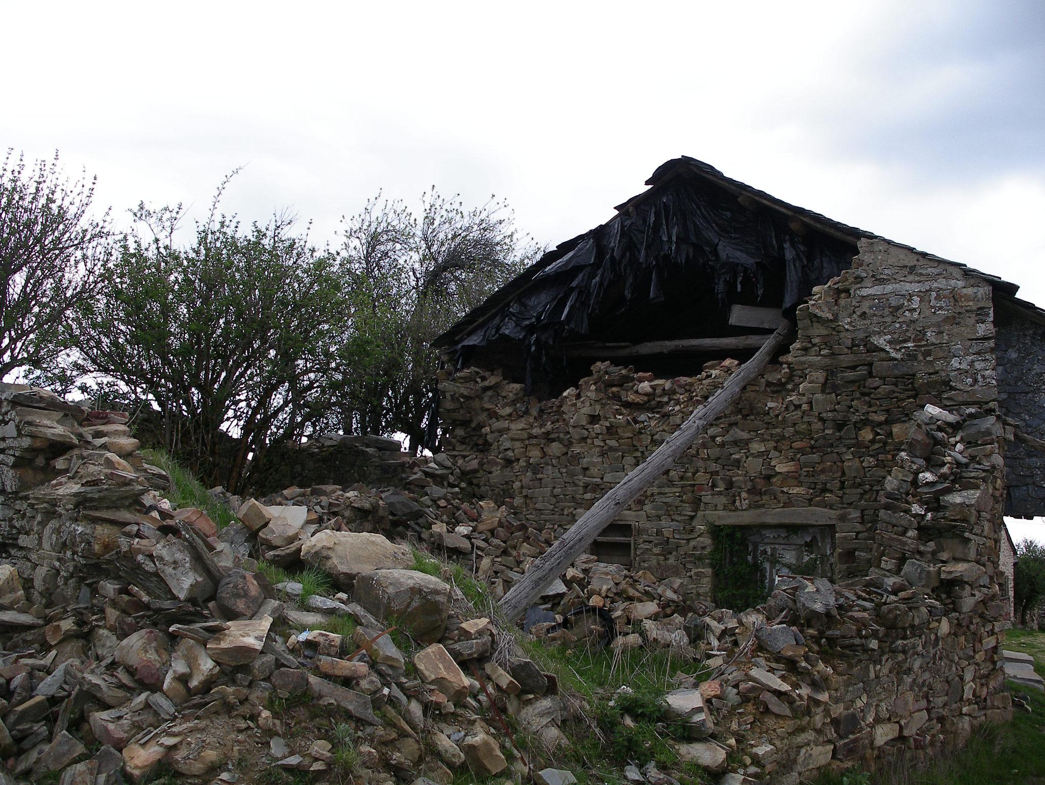 aufgegebene Dörfer unterwegs