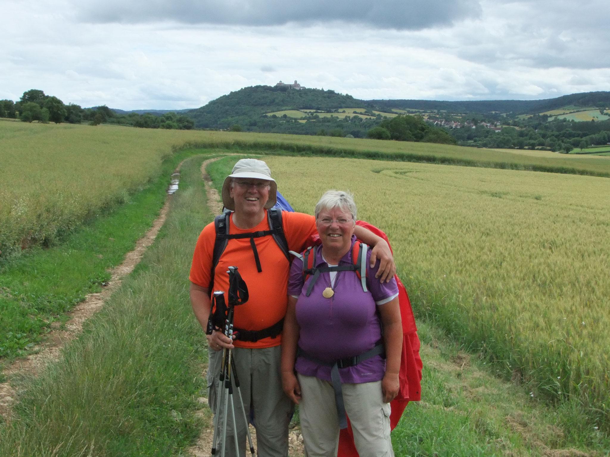 in der Mitte Frankreichs, Vezelay