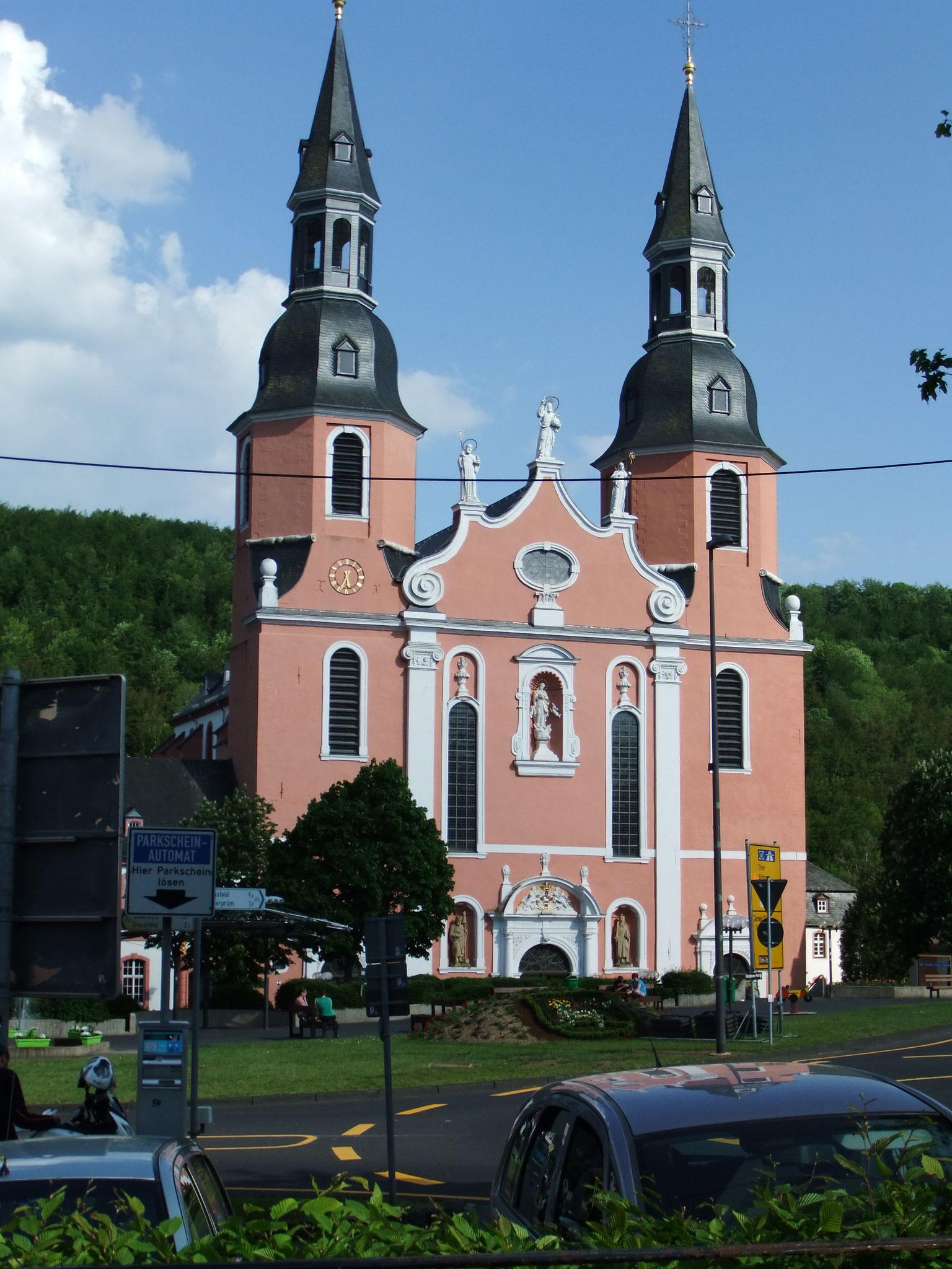 die Stiftkirche im Prüm/Eifel