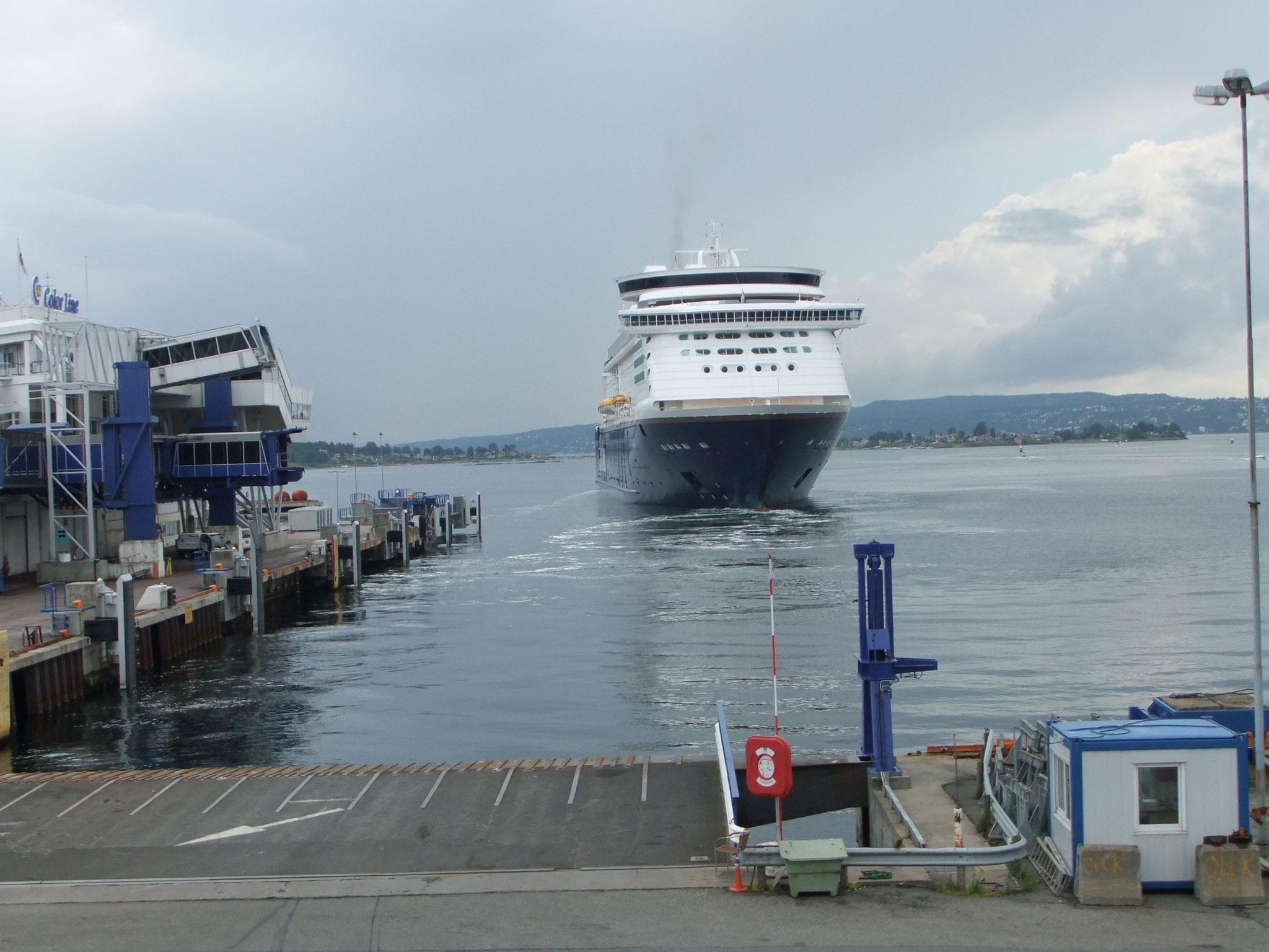 die Fähre nach Kiel