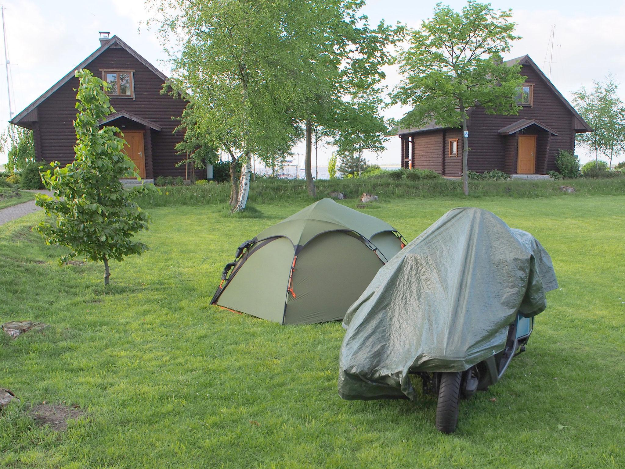 Camping in der Nähe von Stettin