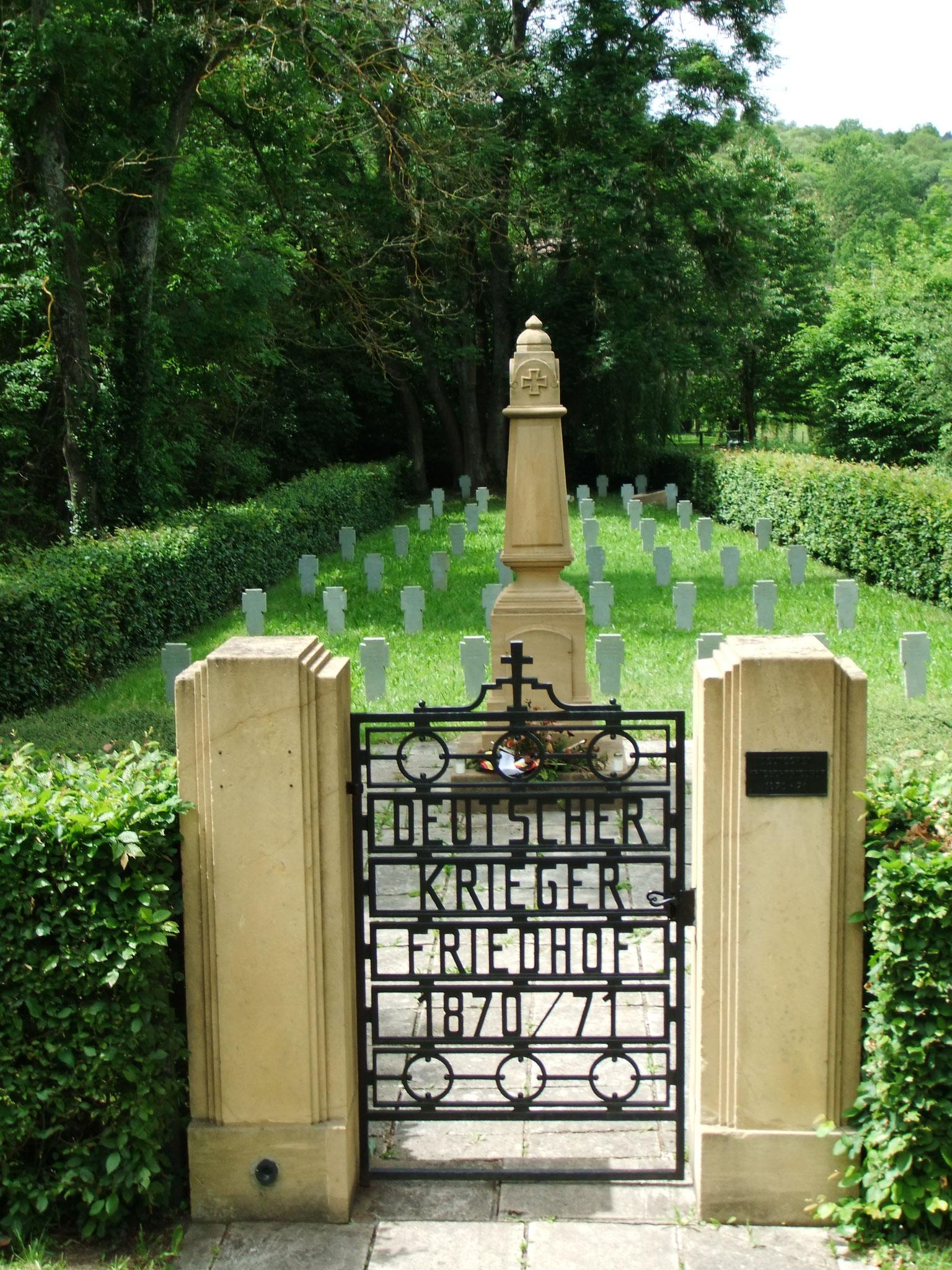 Lothringen, in vielen Kriegen stark umkämpft. So auch hier in der Nähe der Mosel.
