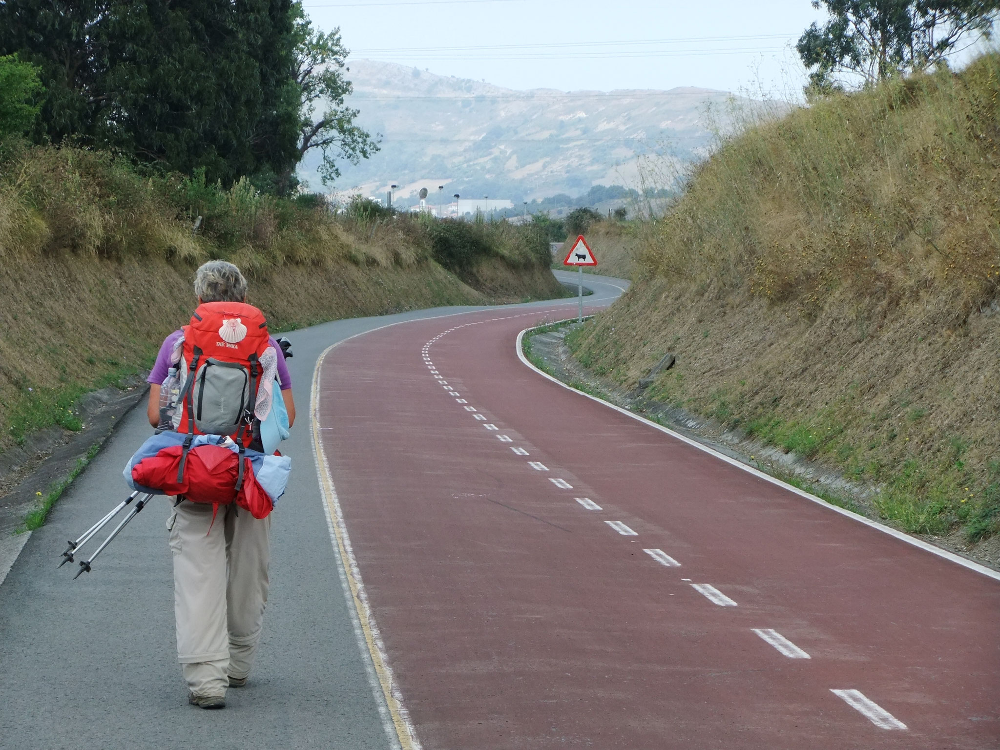 Pilgerstraße von Bilbao zur Küste