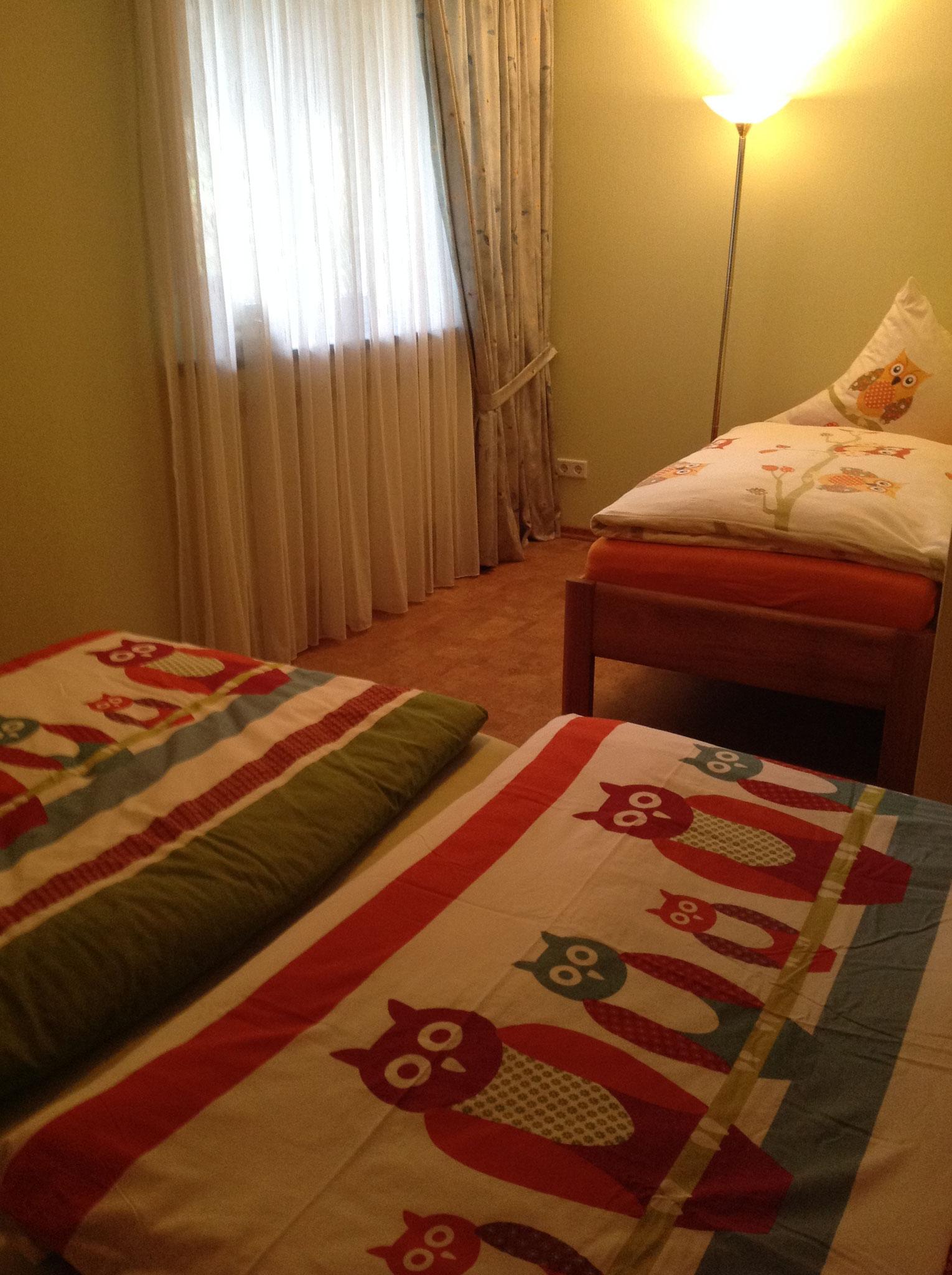 Schlafzimmer 3-4 Betten