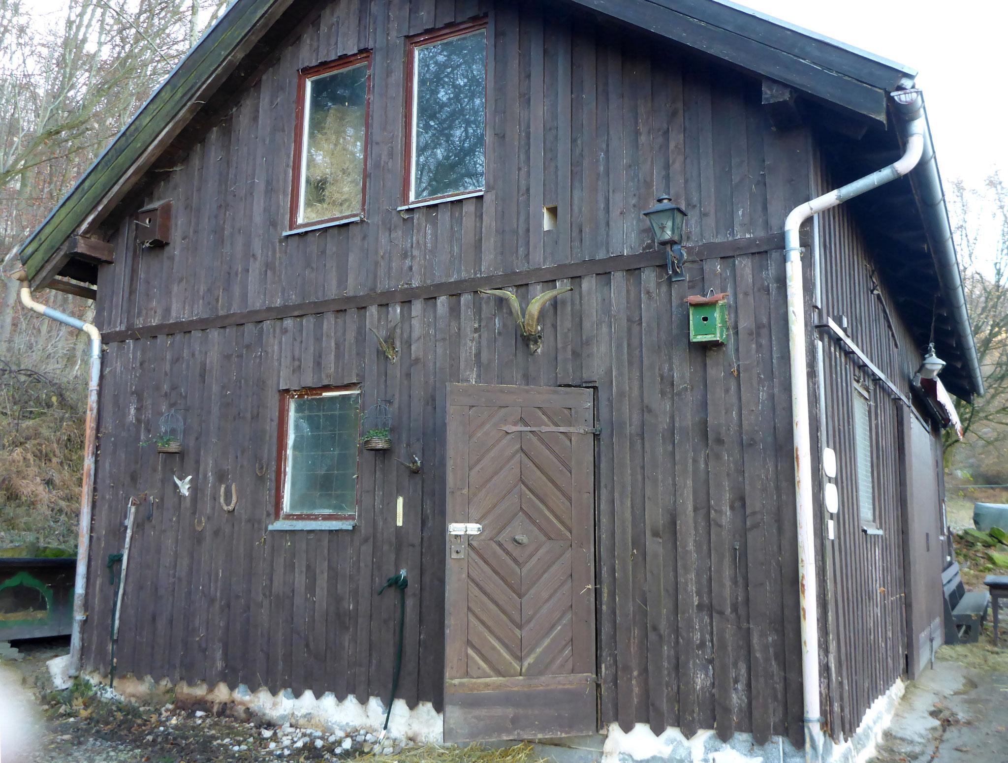 Brigittes ehemaliger Stall Foto NABU B.E.