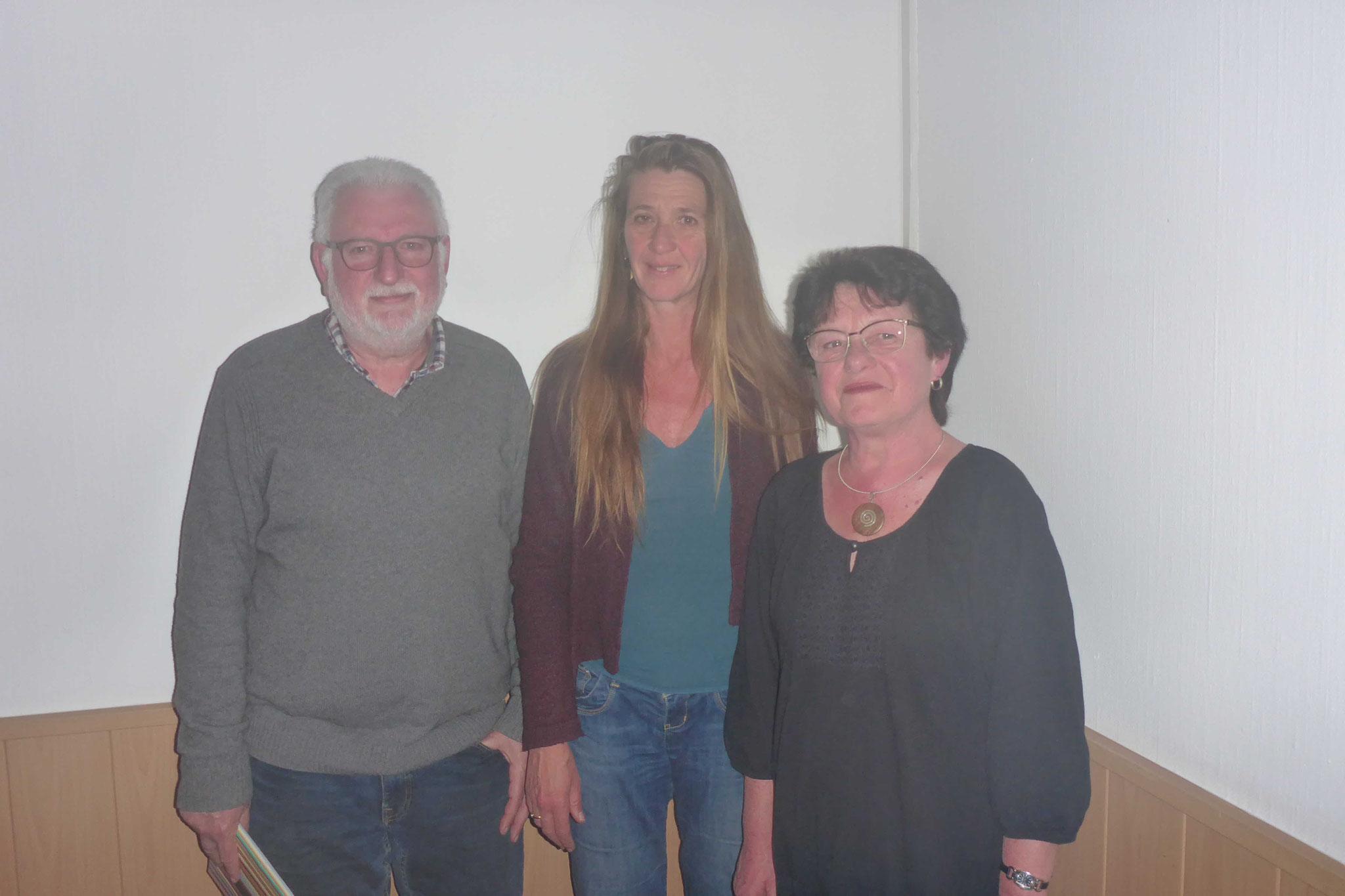 JHV 2019 NABU Ehrung Frau Wolf und Werner Flammer Foto NABU