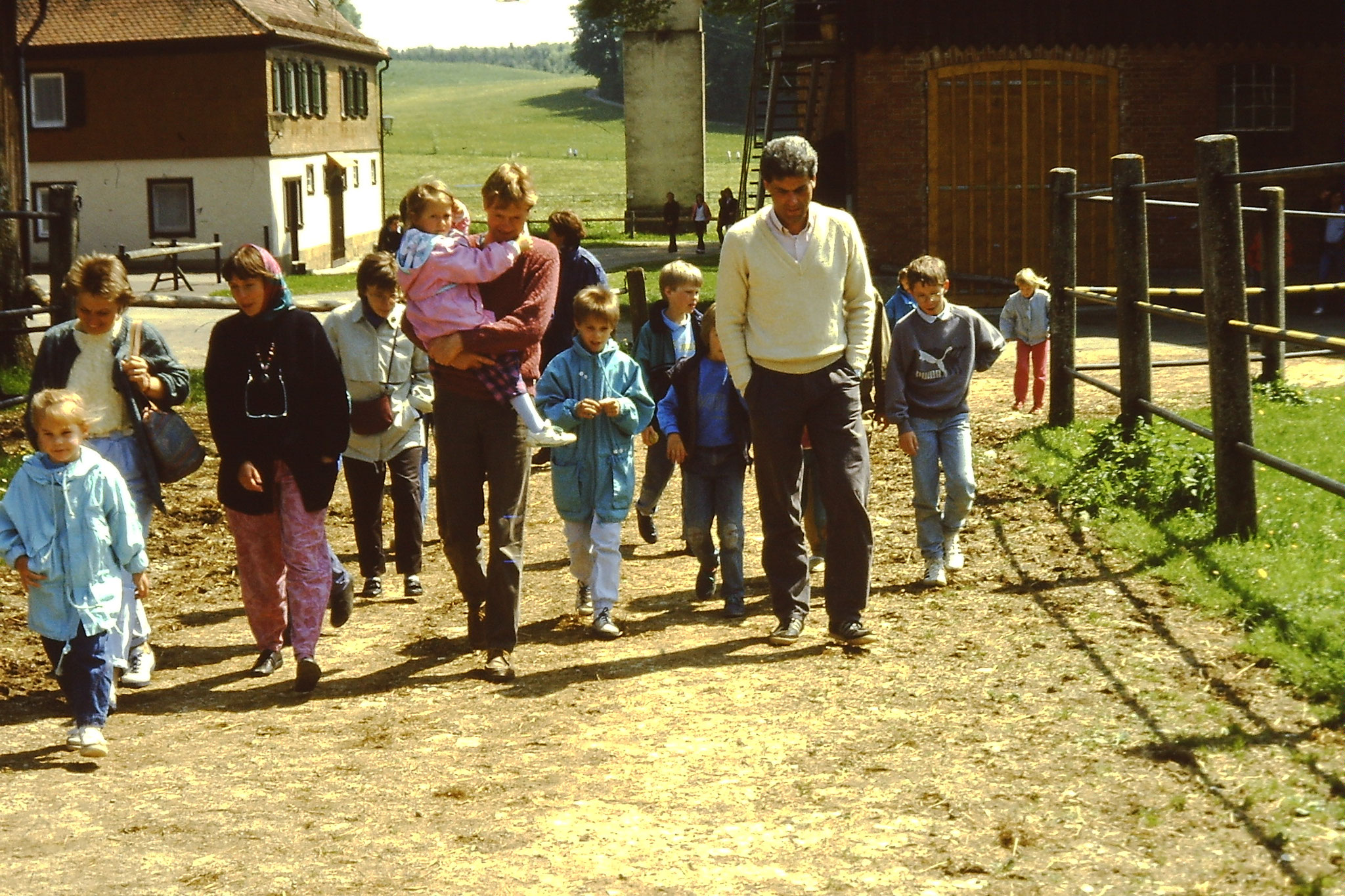 Ausflug auf die Alb 1987 Foto NABU