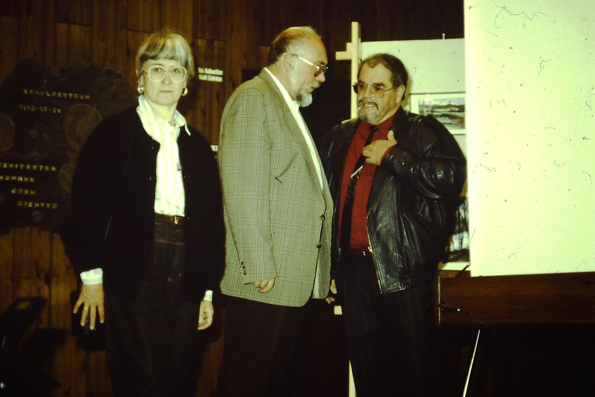 Eduard Kuchelmeister und  Heribert Sautter 1984 Foto NABU