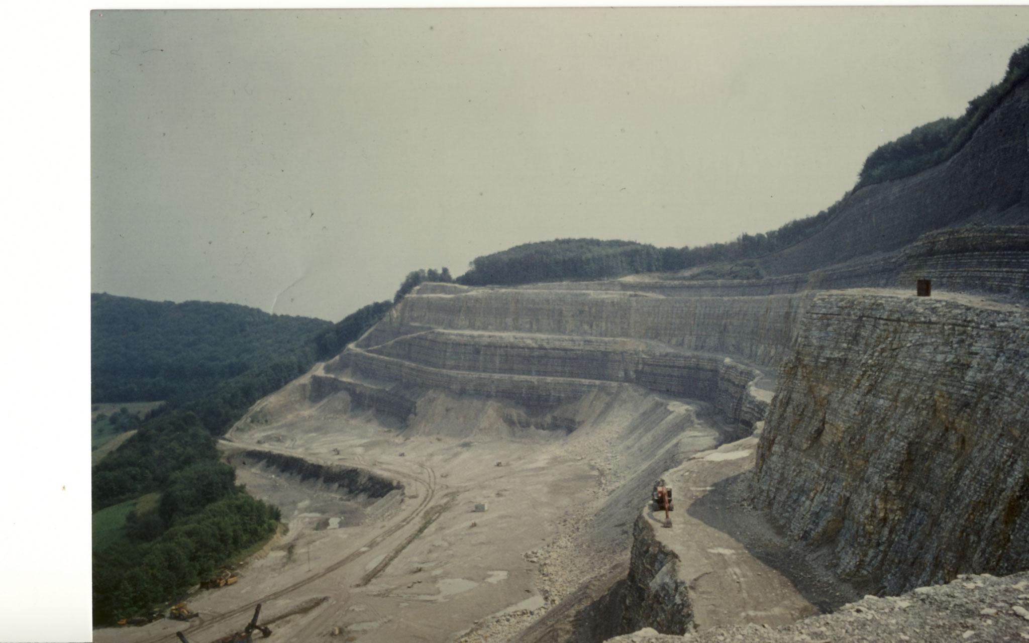 Steinbruchsohle