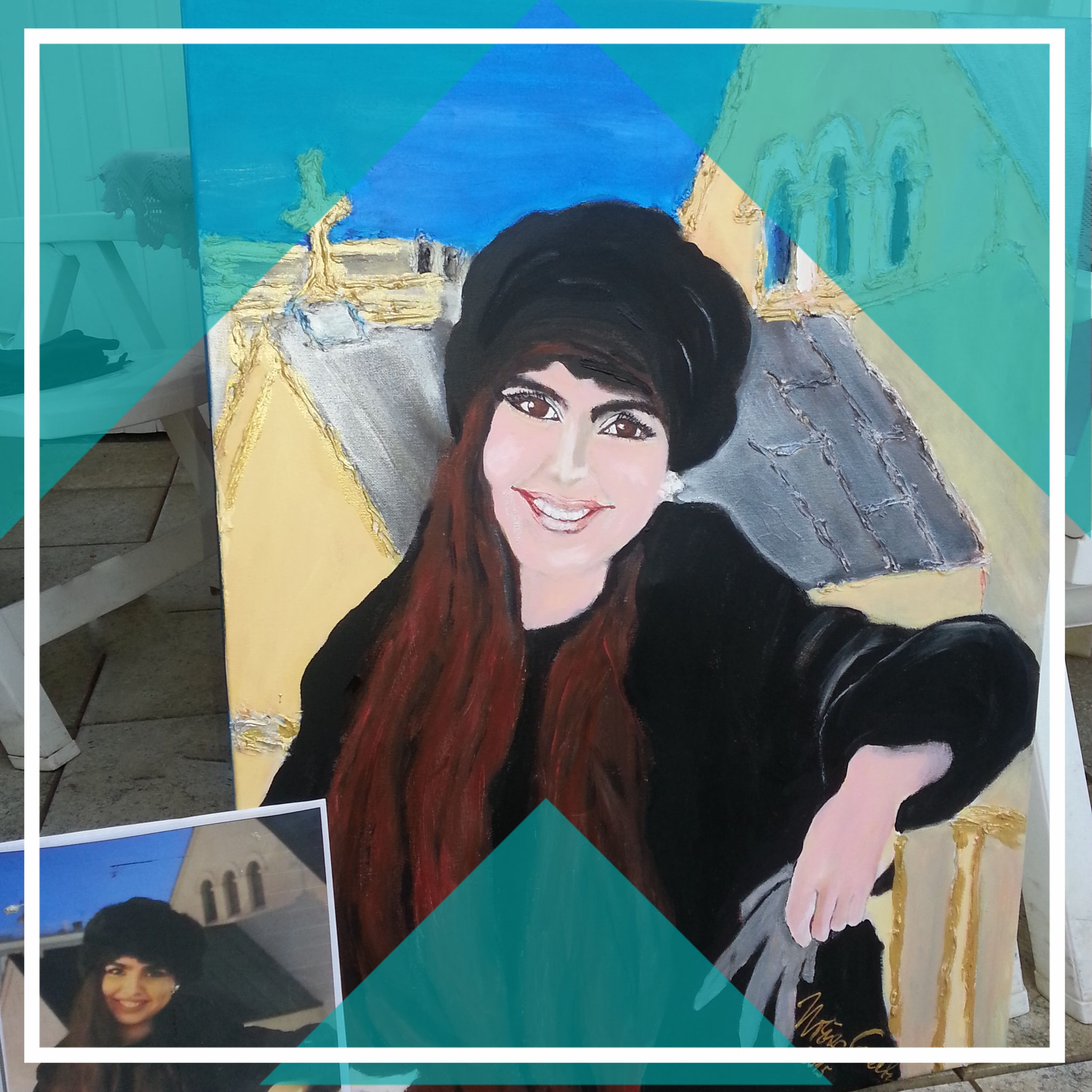 Meine Freundin Afrah aus Kuwait (privat)