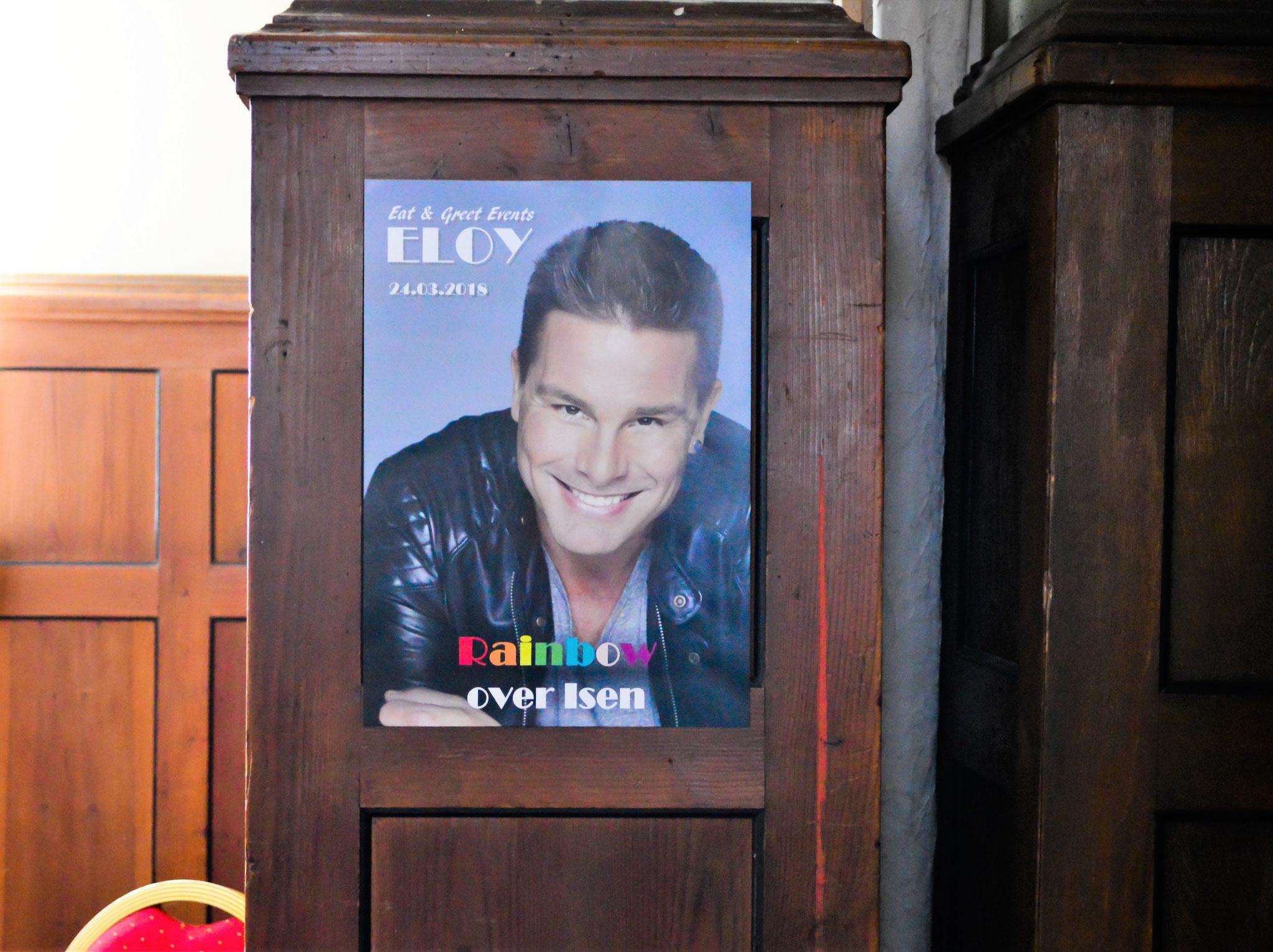 Poster von ELOY Live in Isen