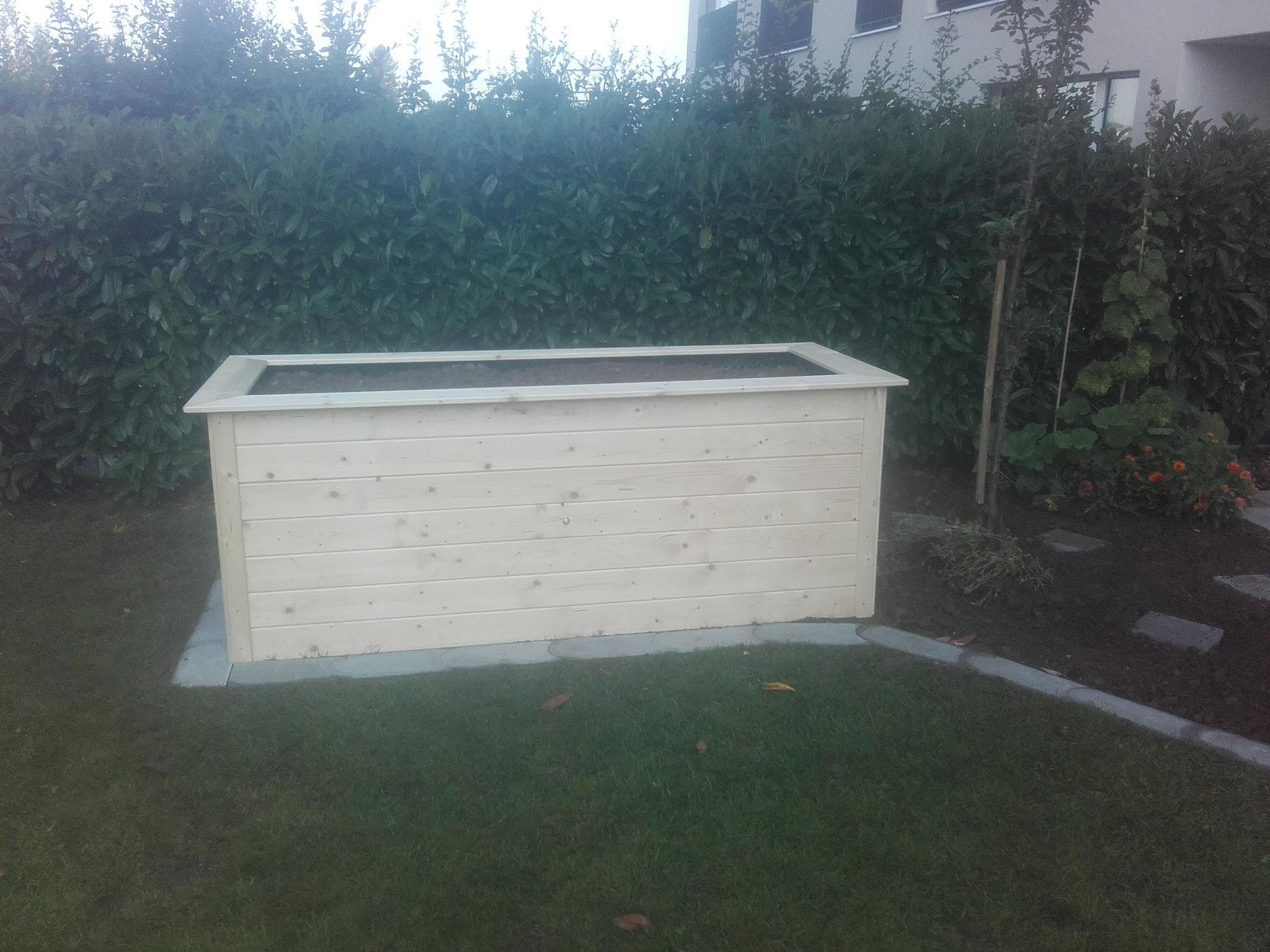 Hochbeete aufbauen und befüllen
