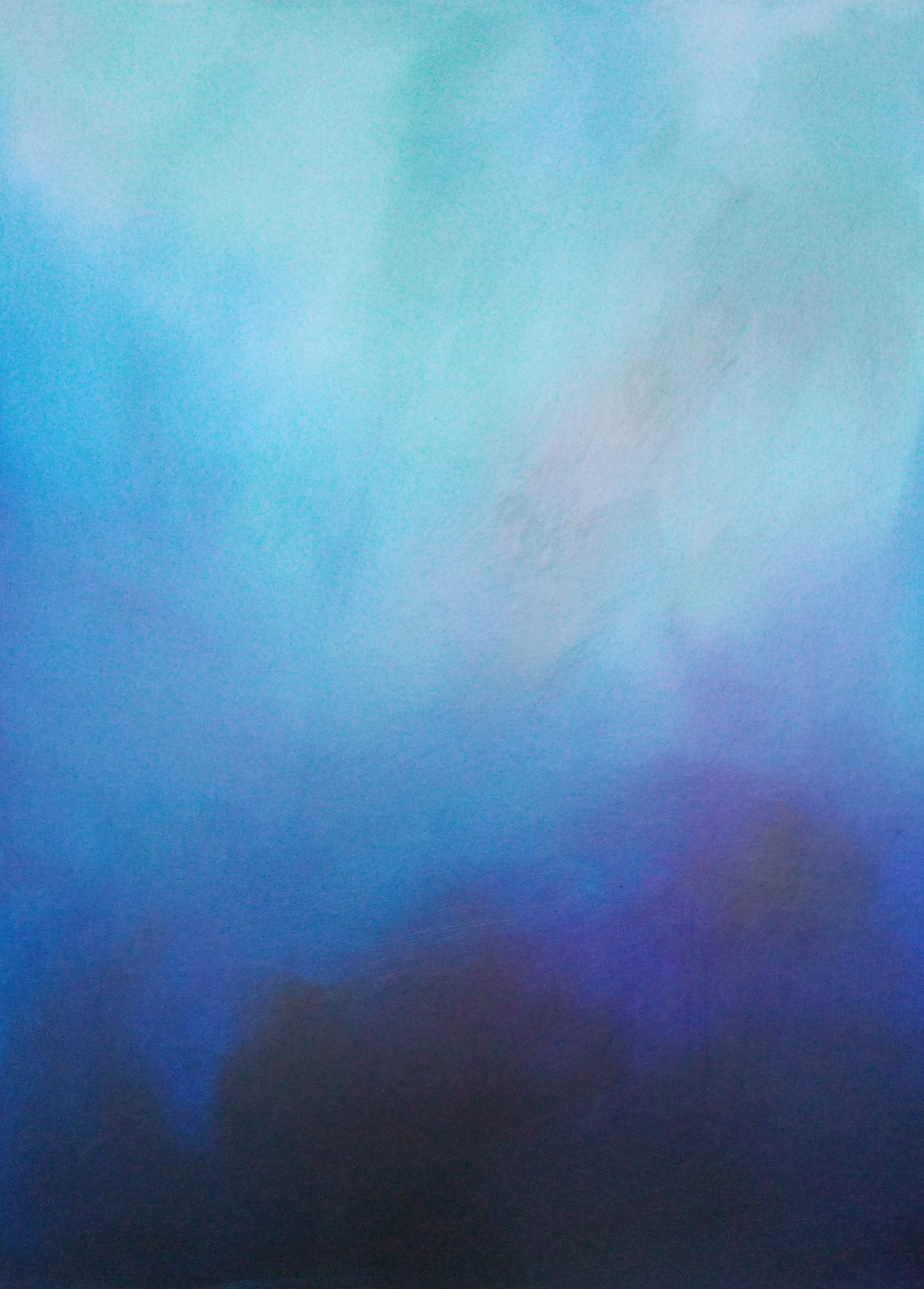 """Meister"" - Acryl auf Malpappe ohne Rahmen, 52x72 cm"