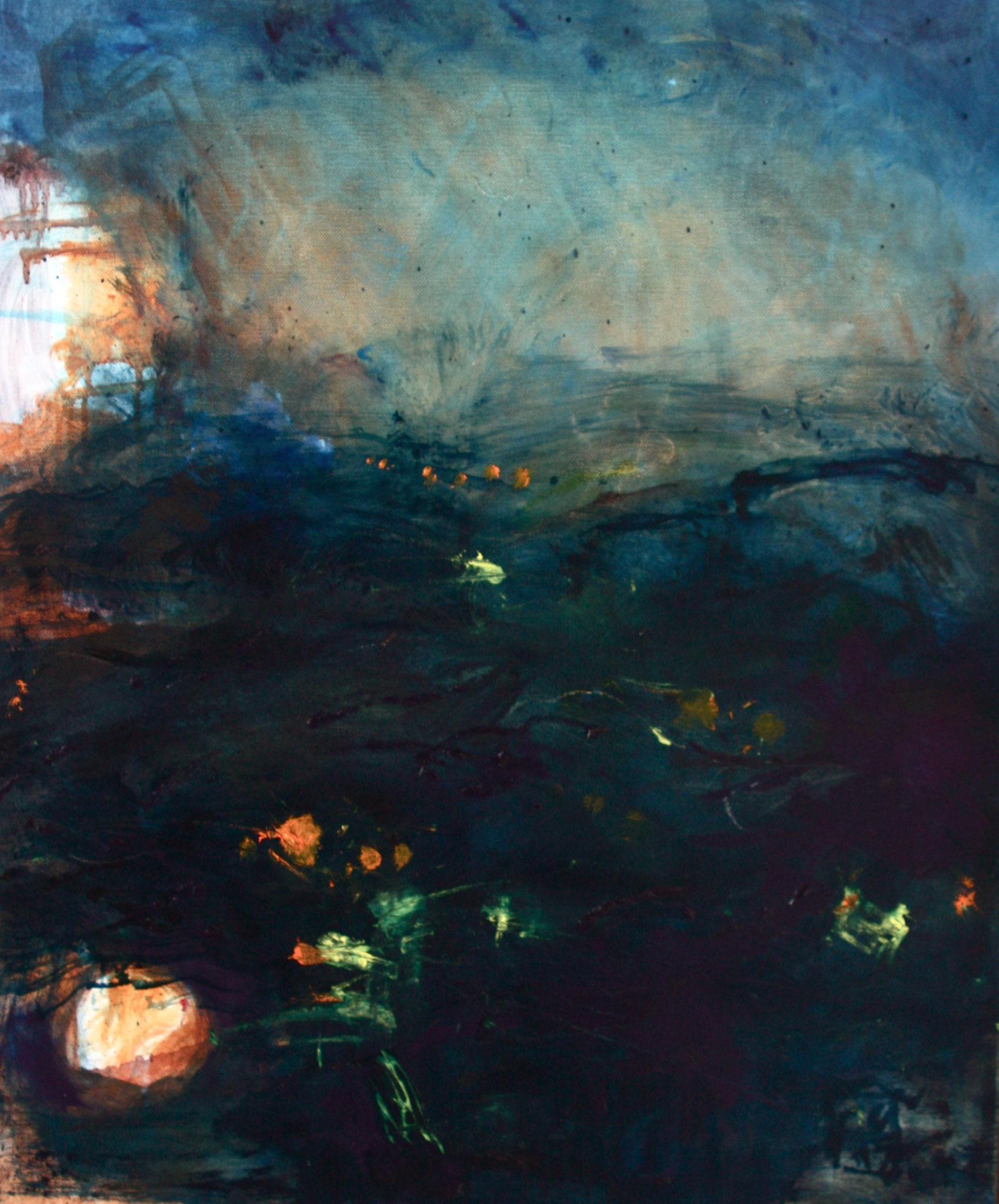 Novembre six heure - 2011 - 70 x 60 cm