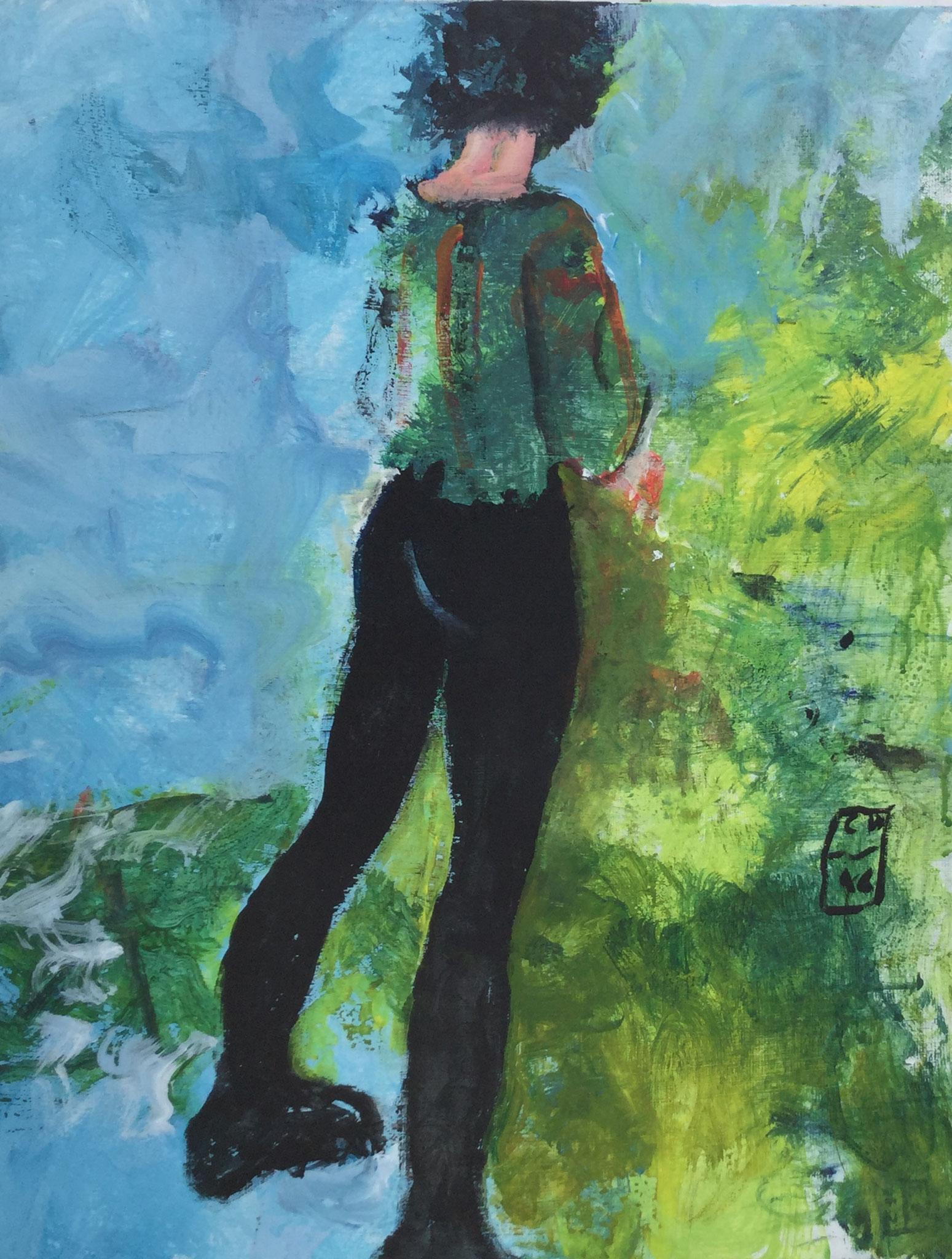 Bérénice - 2016 - 60 x 80 cm