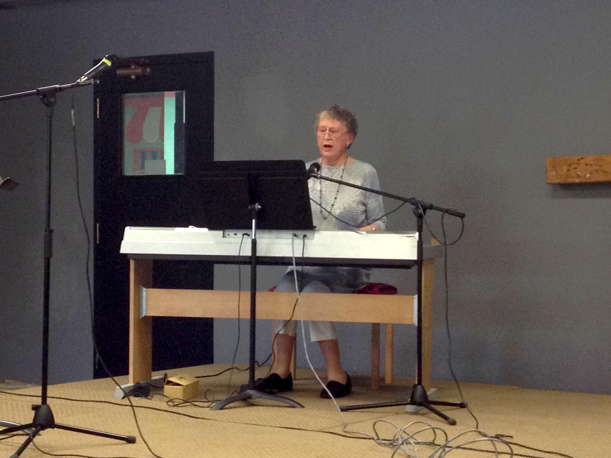 Rev. Marjorie Mizuno's special worship