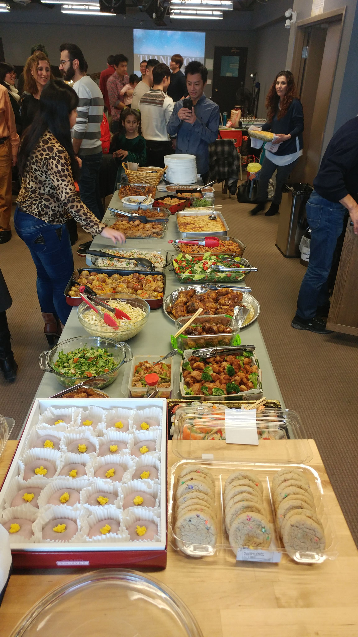 2/18 Joint Service with Hope Church Potluck