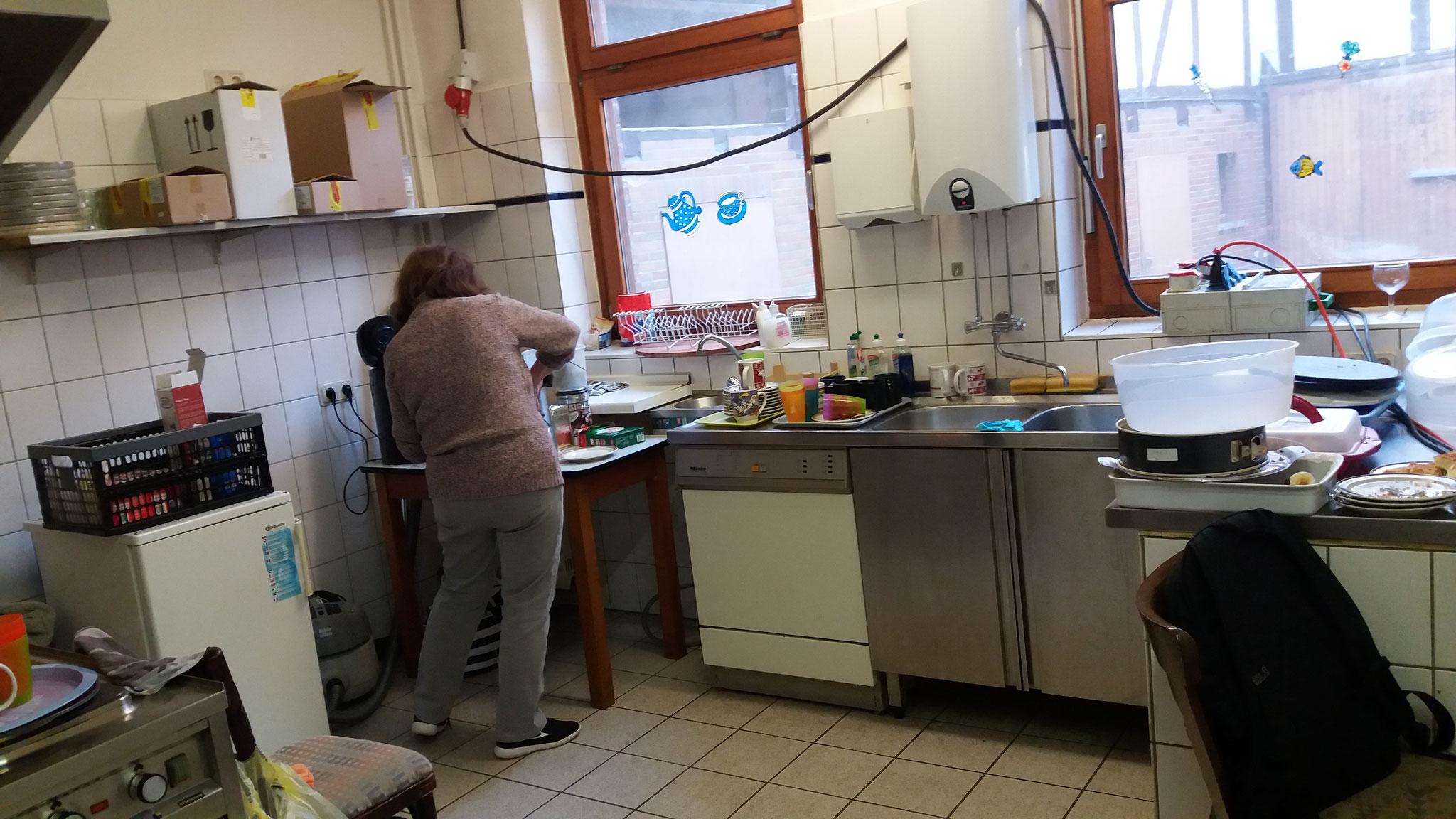 unsere Küchenfee hatte böse zu tun