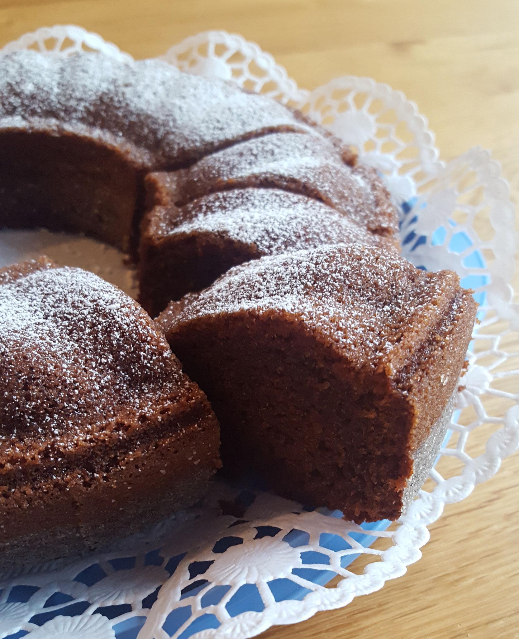 Becher Rezept Schoko Haselnuss Kuchen Elbwichtel