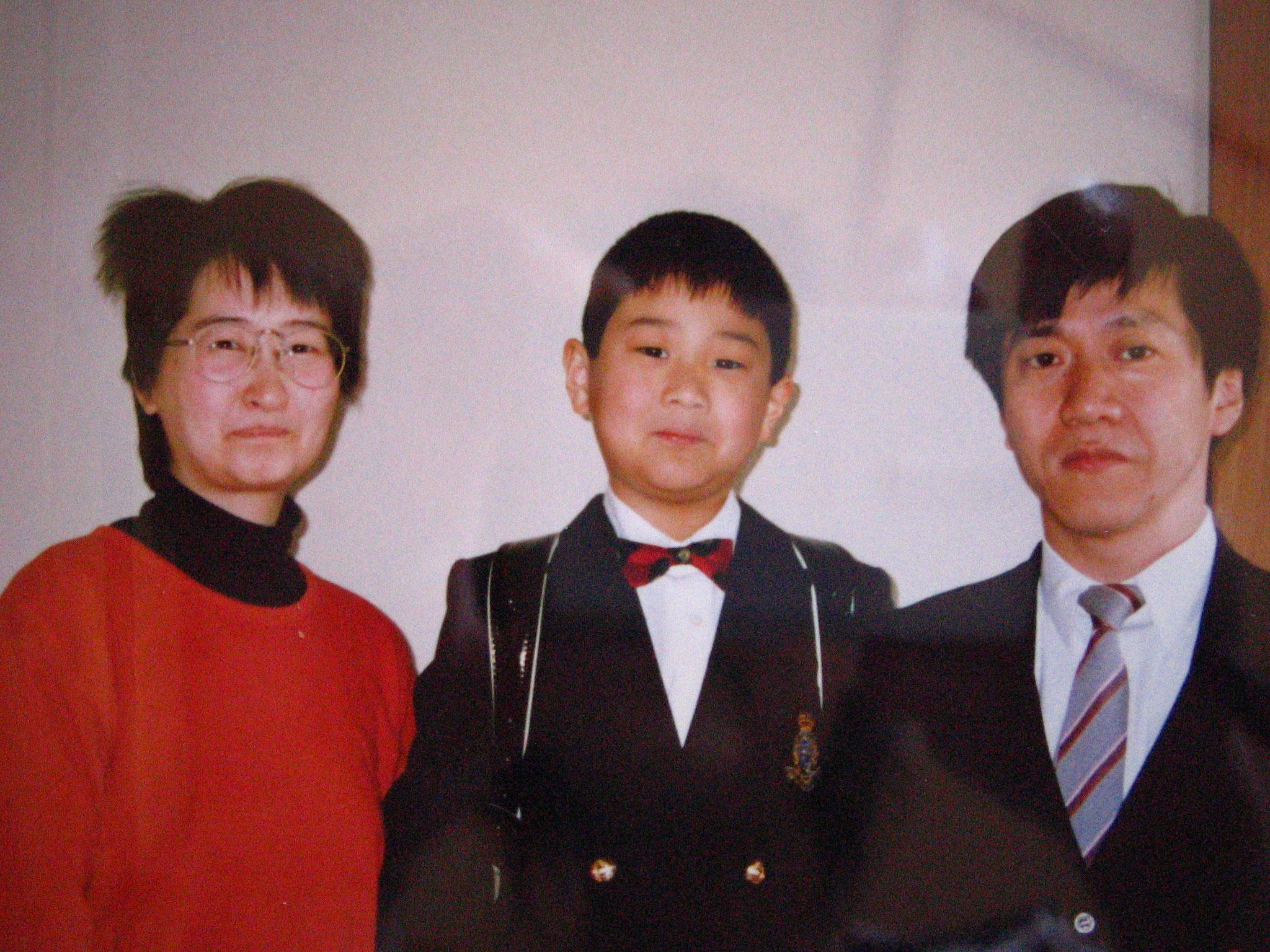 息子の入学式は、ベッドからお見送り、幽体離脱をしていて、伊藤慶二先生と出会う
