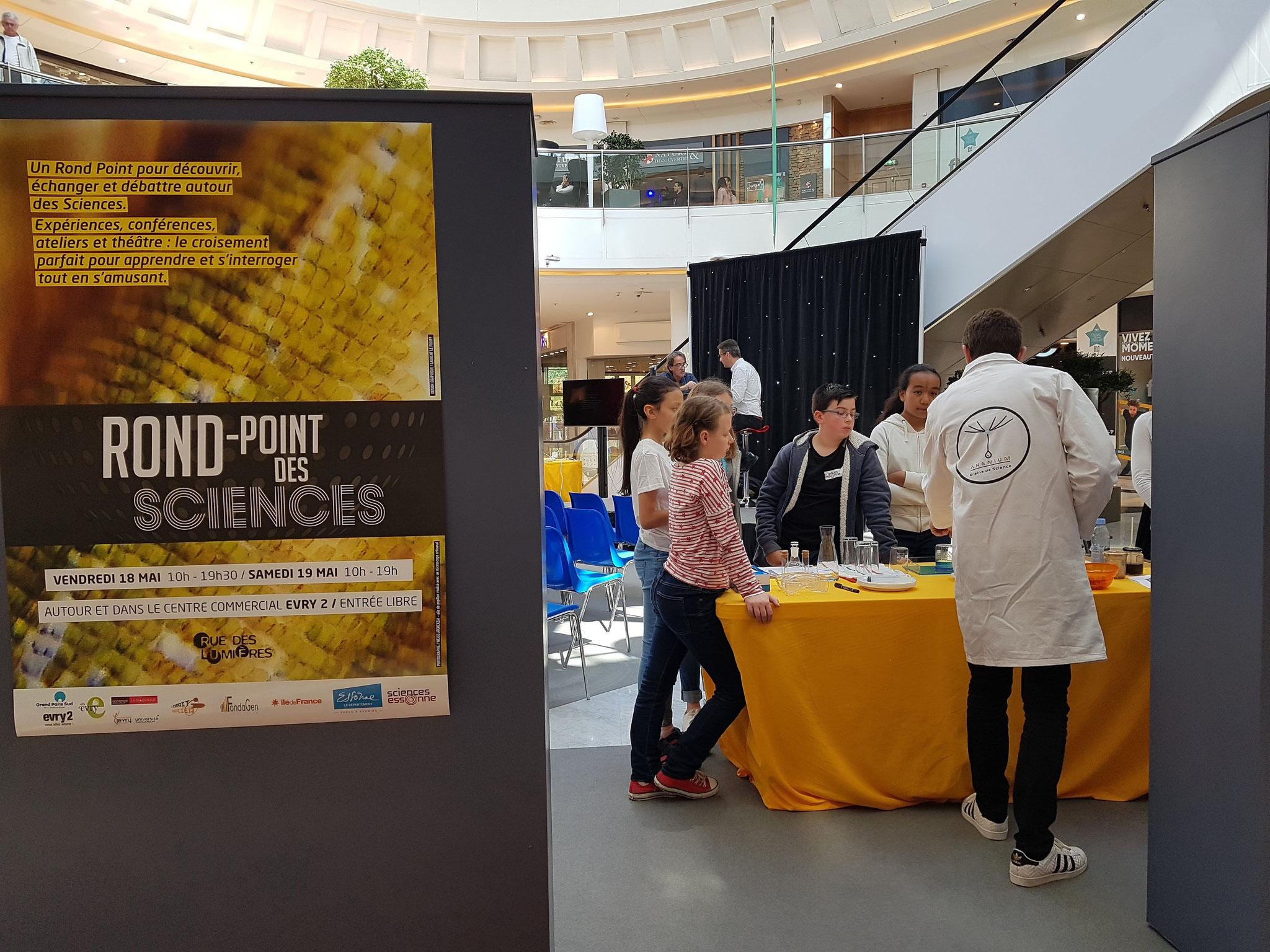 """Animation """"Rond Point des Sciences"""", Sciences Essonne, Evry, 2018"""