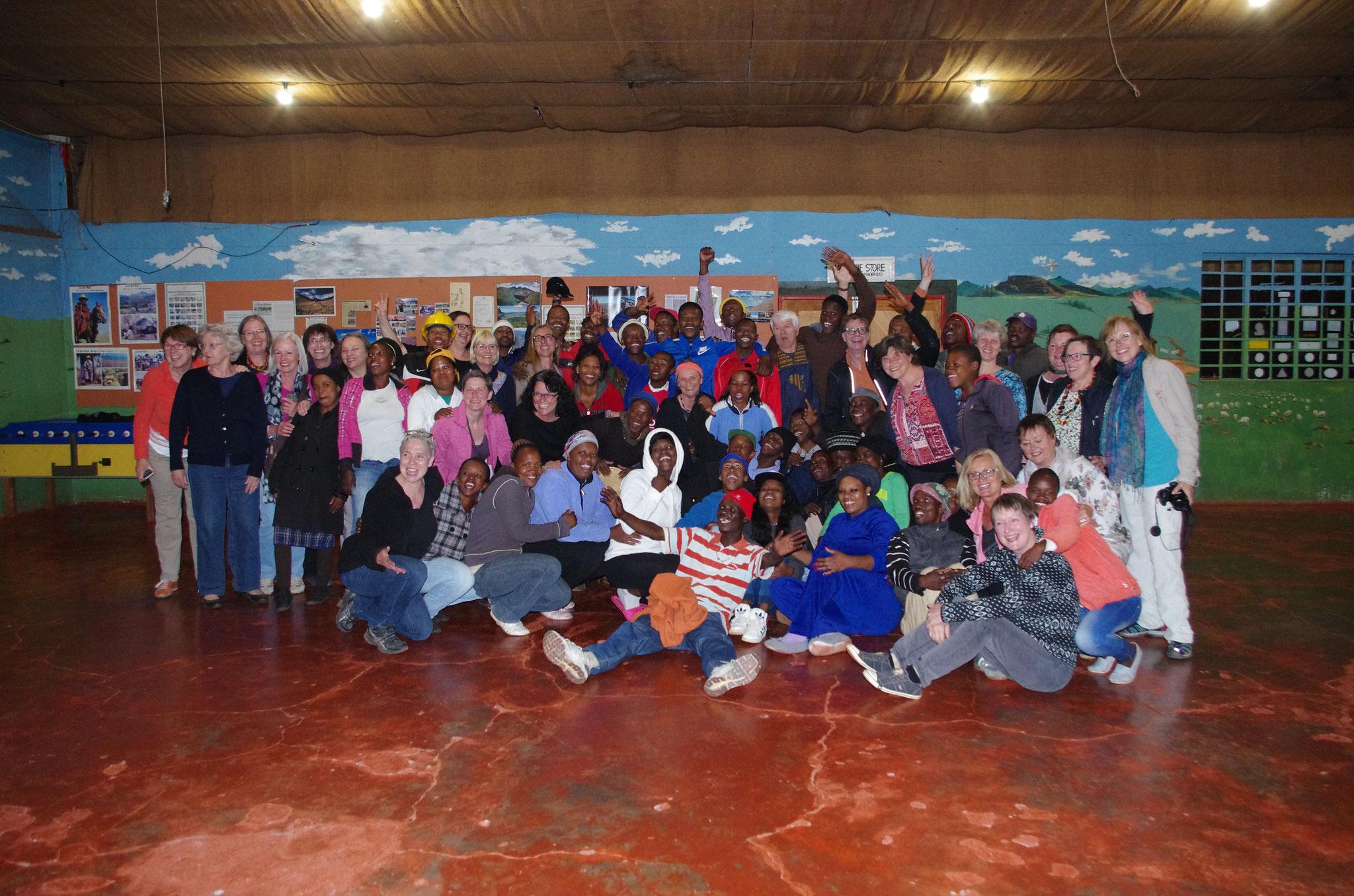 Chorprobe dreier Nationen: Deutschland, Lesotho & Südafrika