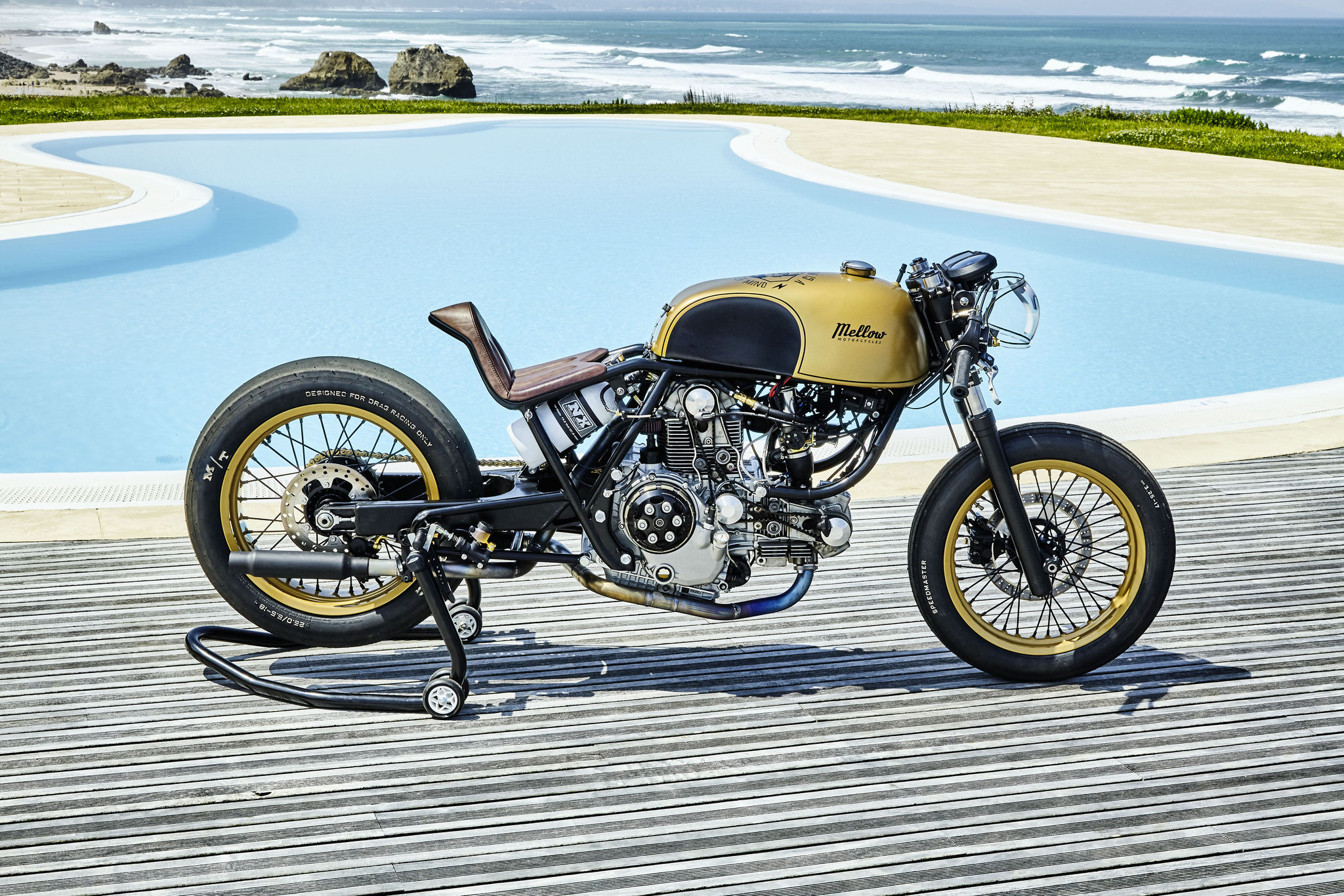 Mellow Motorcycles FRKNSTN Ducati 1000 Sprint Racer - NOS - Honda 750 Frame - KTM Swingarm