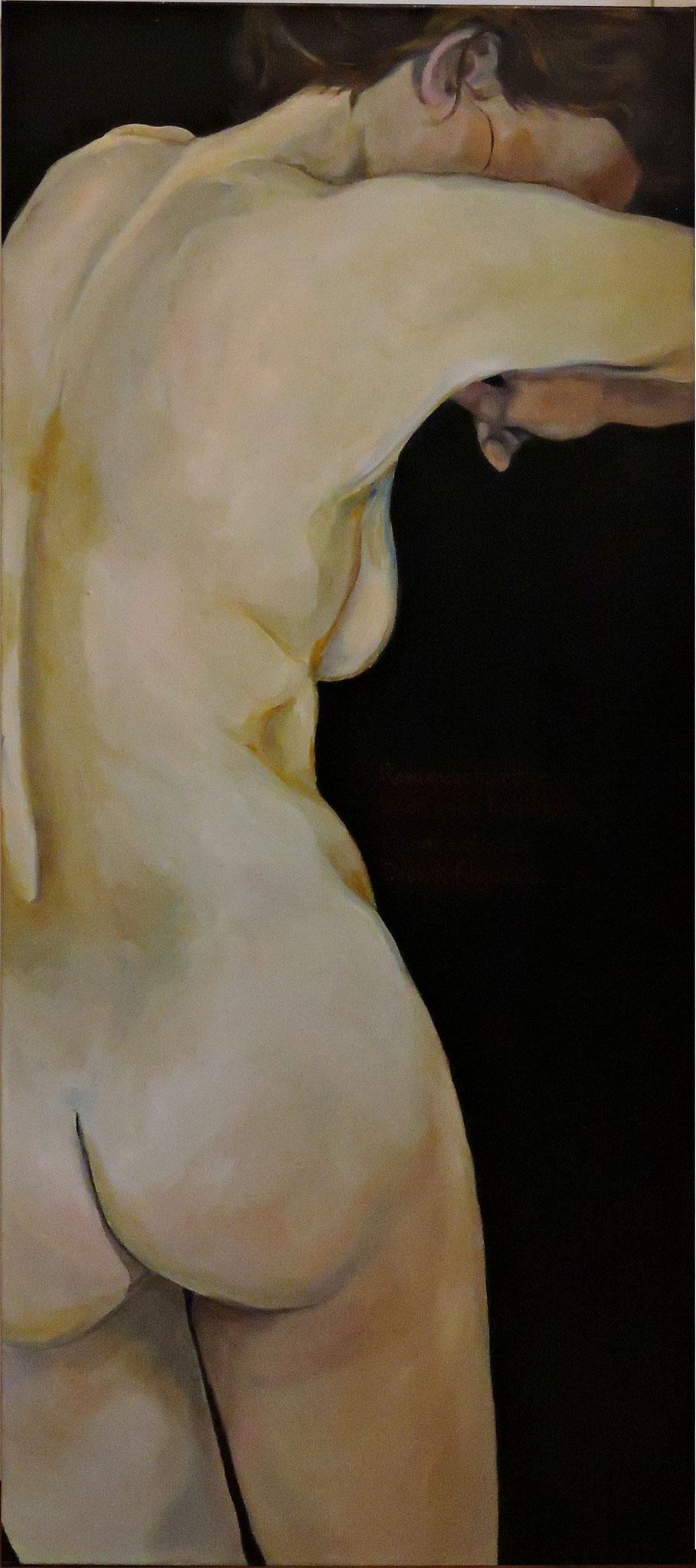 """Nausikaa"", Öl auf Leinwand, 140 x 60 cm, 2014.  3100,00 € (inkl.MwSt.)"