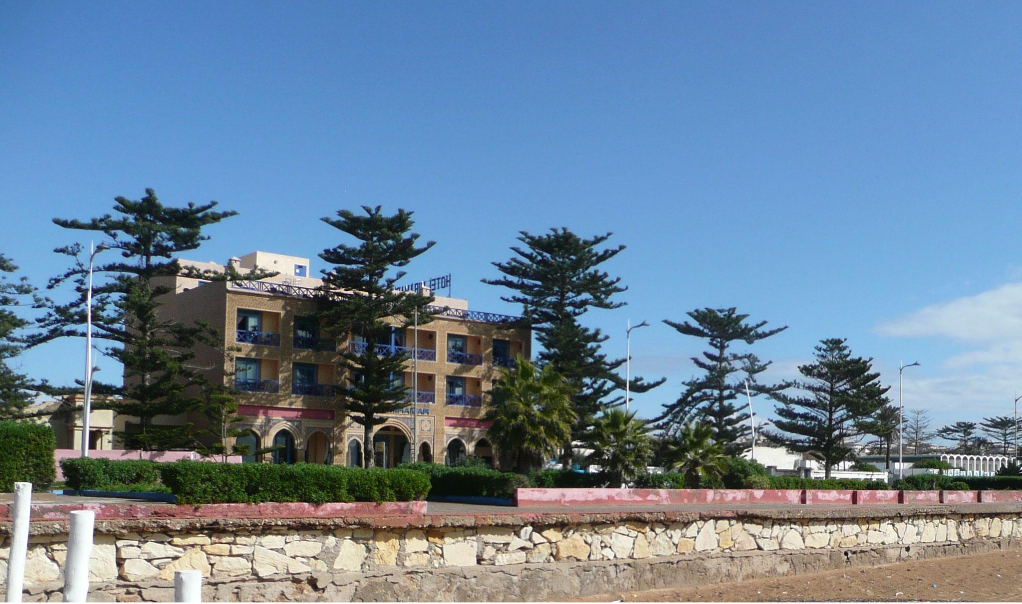 Essaouria - neues gepflegtes Hotel direkt am Strand