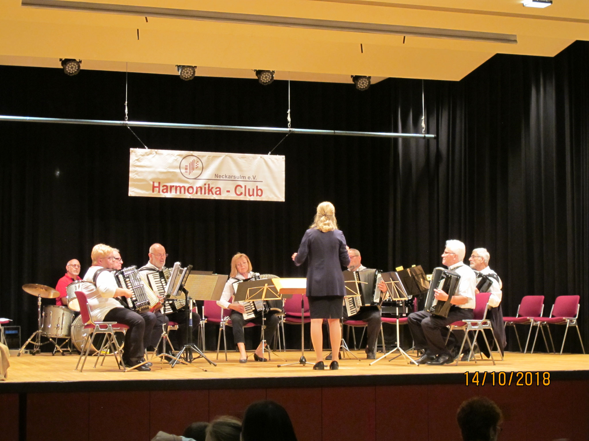 Hobby-Orchester beim Familiennachmittag