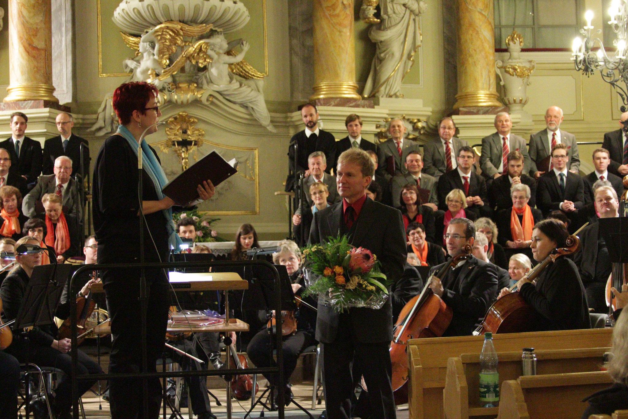 Verabschiedung von unserem langjährigen Chorleiter Lars Deke