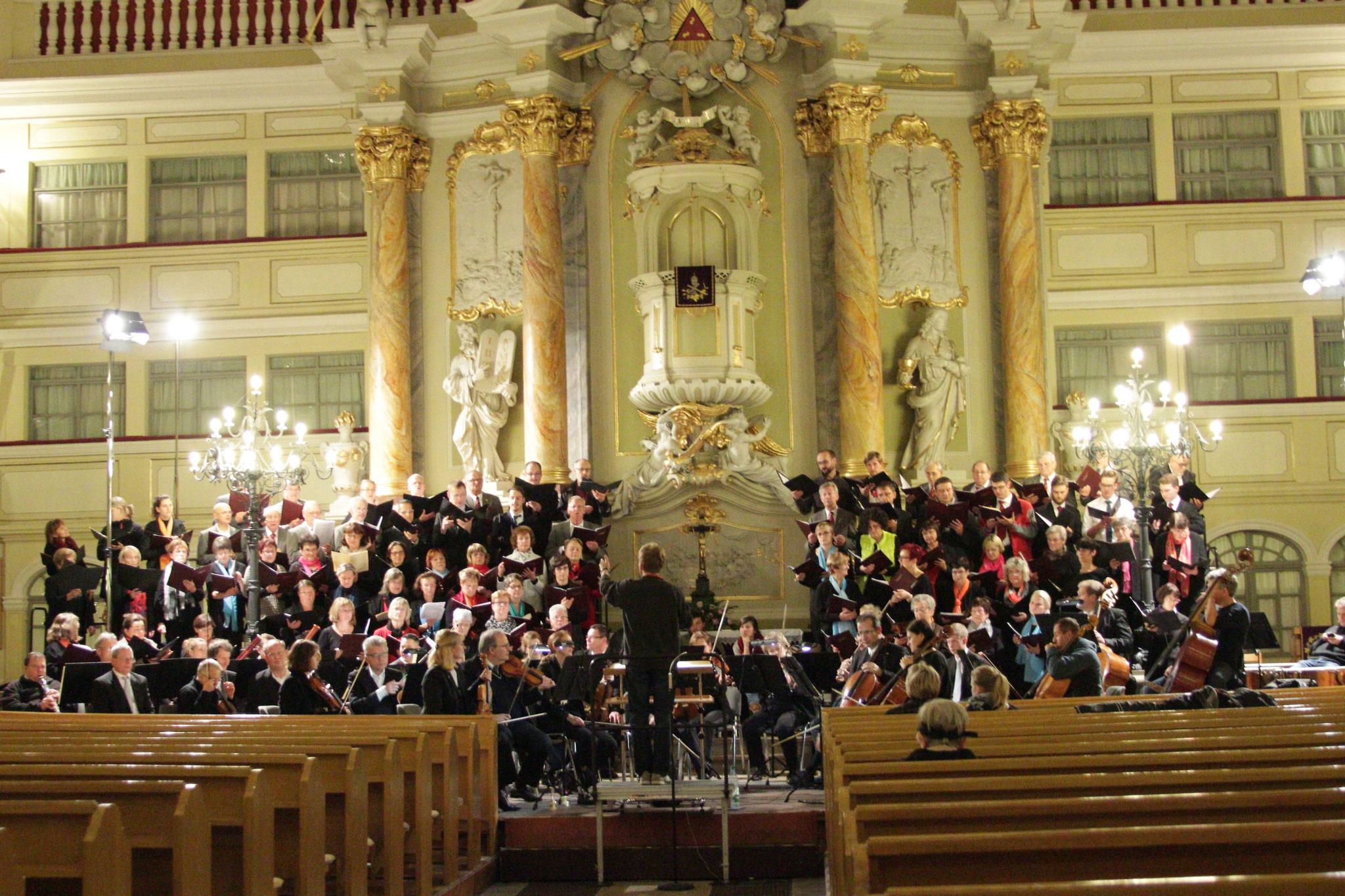 """70. Jahre Singgemeinschaft Jubiläumskonzert """"Die Glocke"""" in der Großenhainer Kirche"""