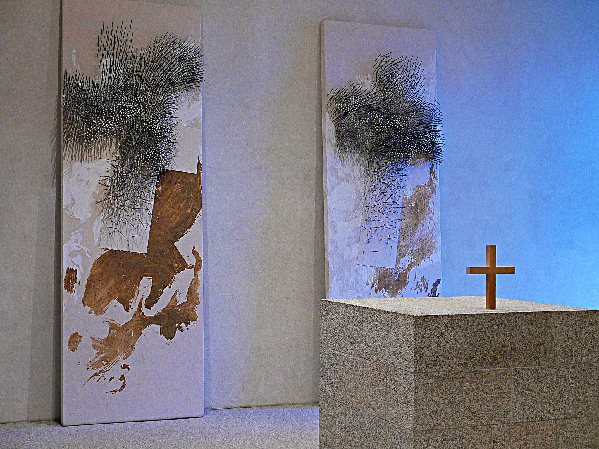 Kunst von Günther Uecker: Der Andachtsraum