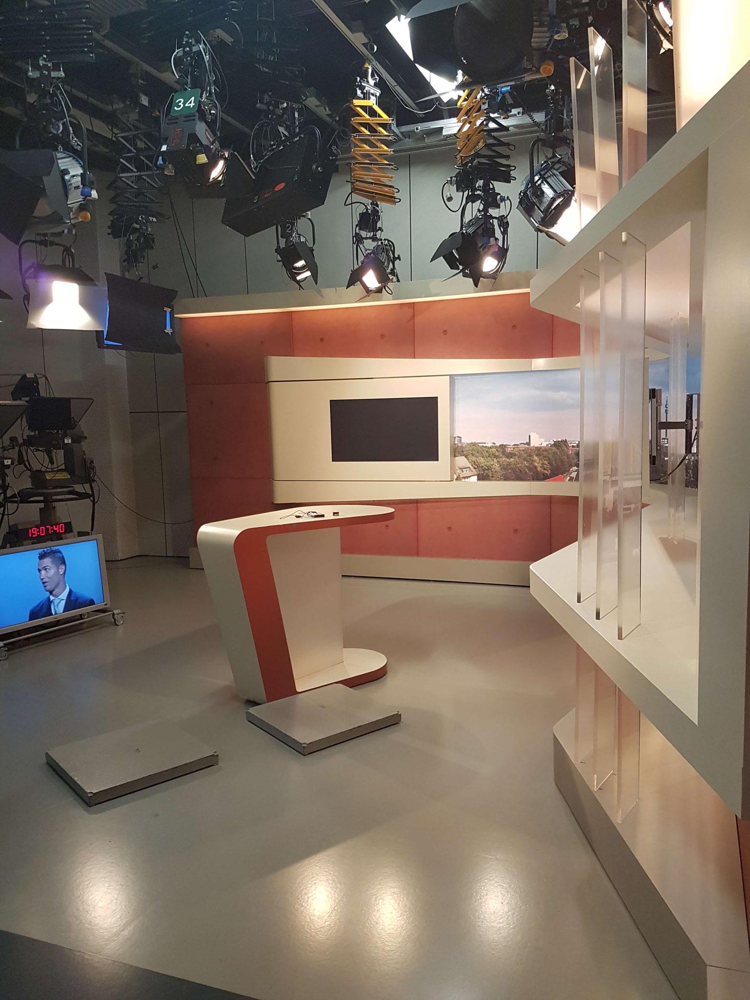 Hinter den Kulissen beim WDR-Besuch