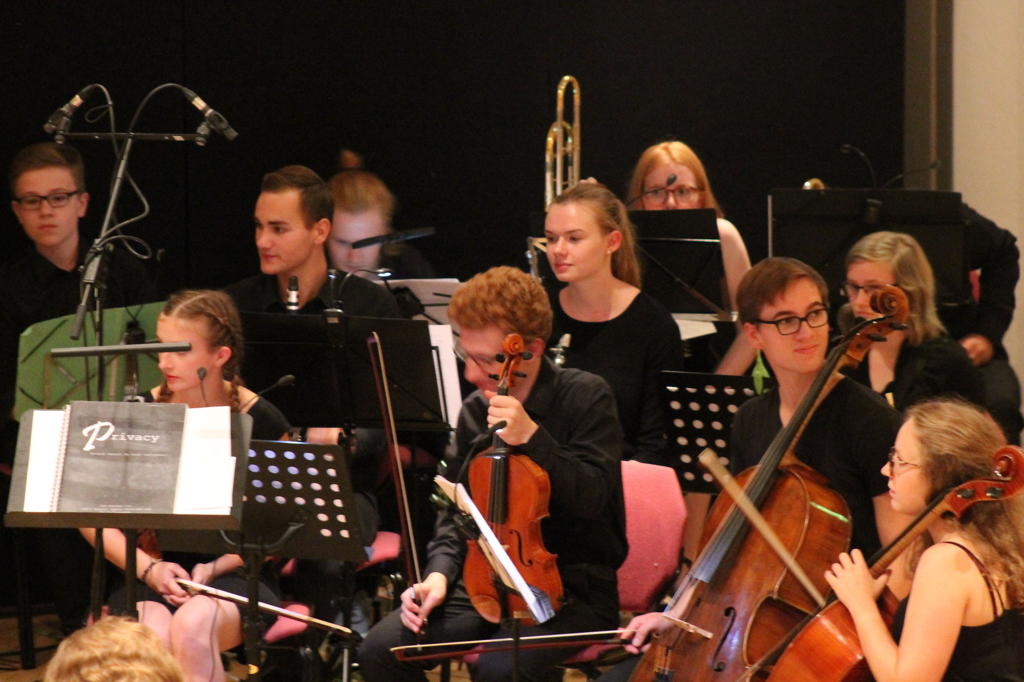 Auch das Orchester machte eine gute..