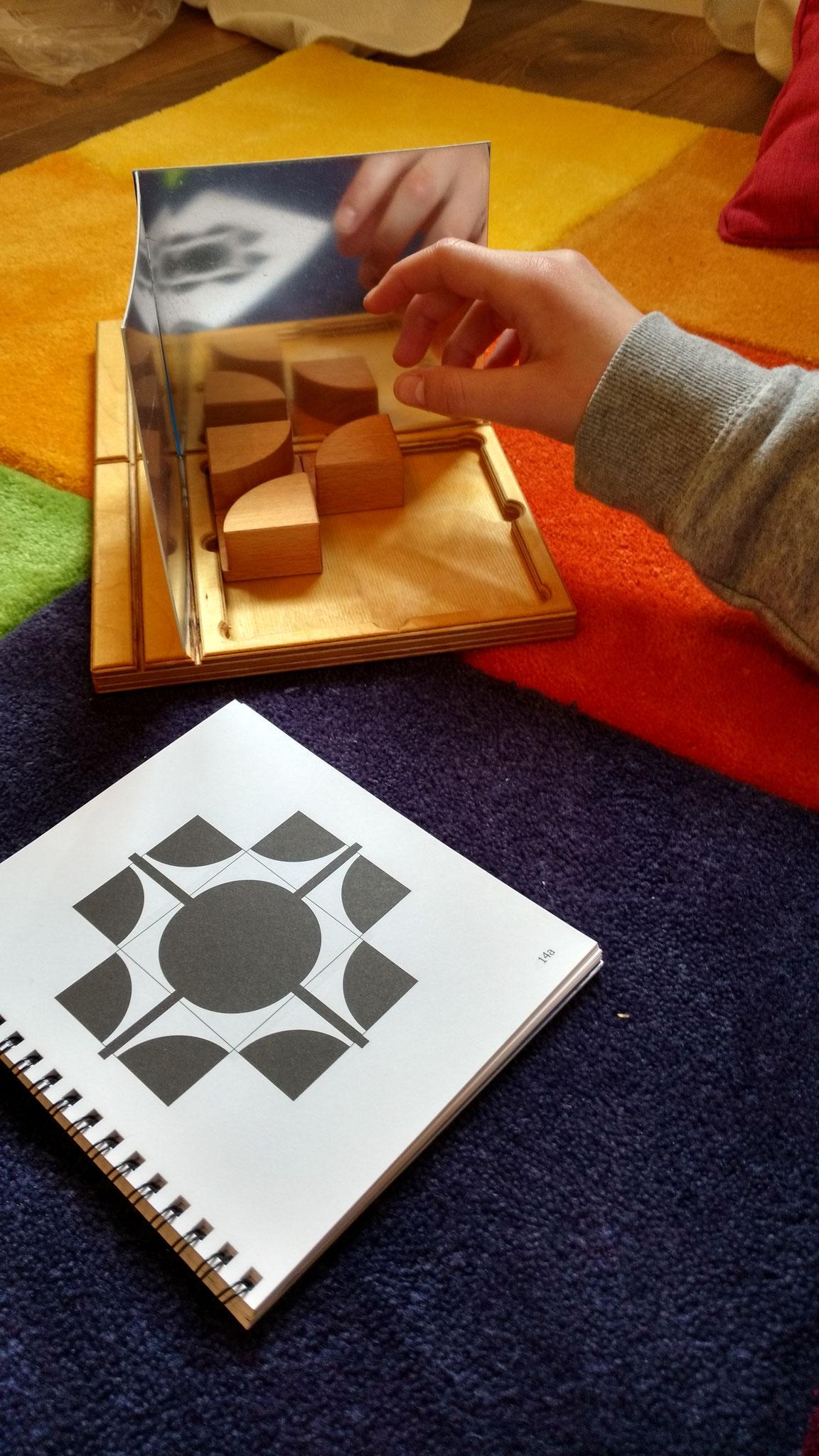 Symmetrien handlungsorientiert erschließen.
