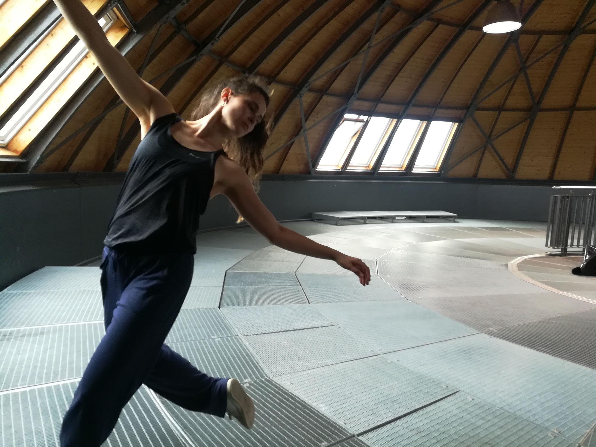 Probenschnappschuss Donna-Mae Burrows im H2O-Turmpark