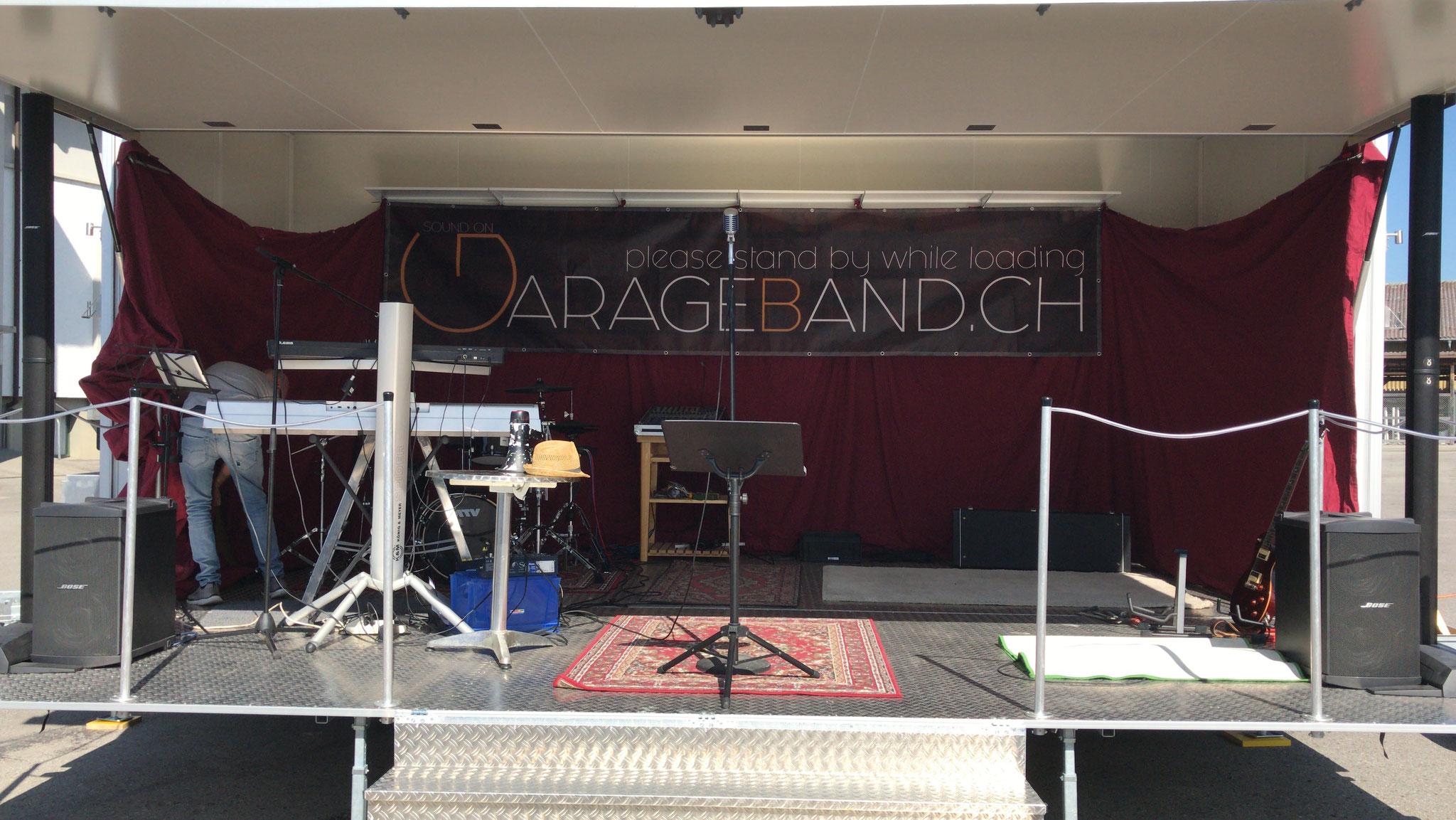Bühne GarageOpen #1 2019