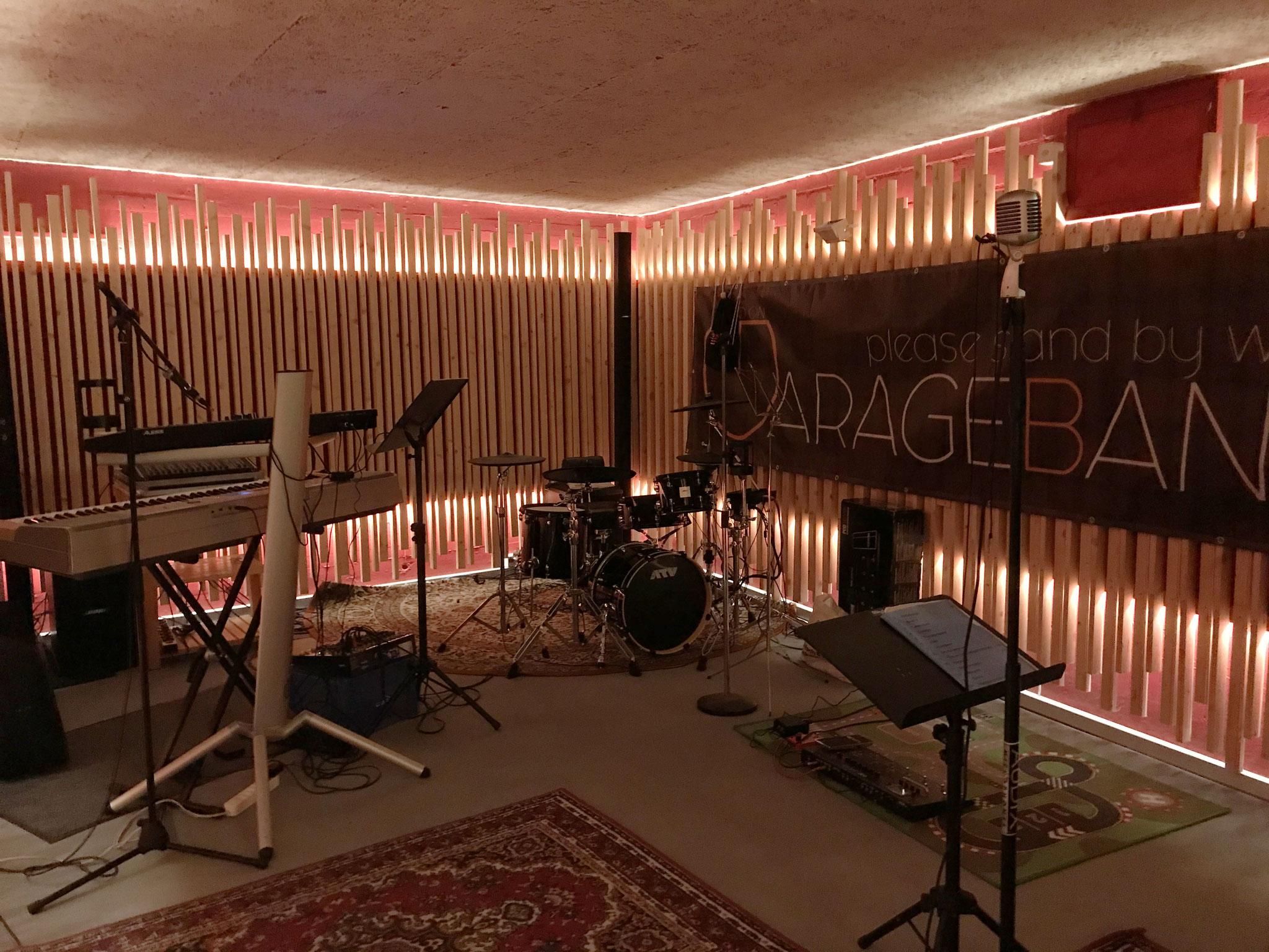 Proberaum garageband
