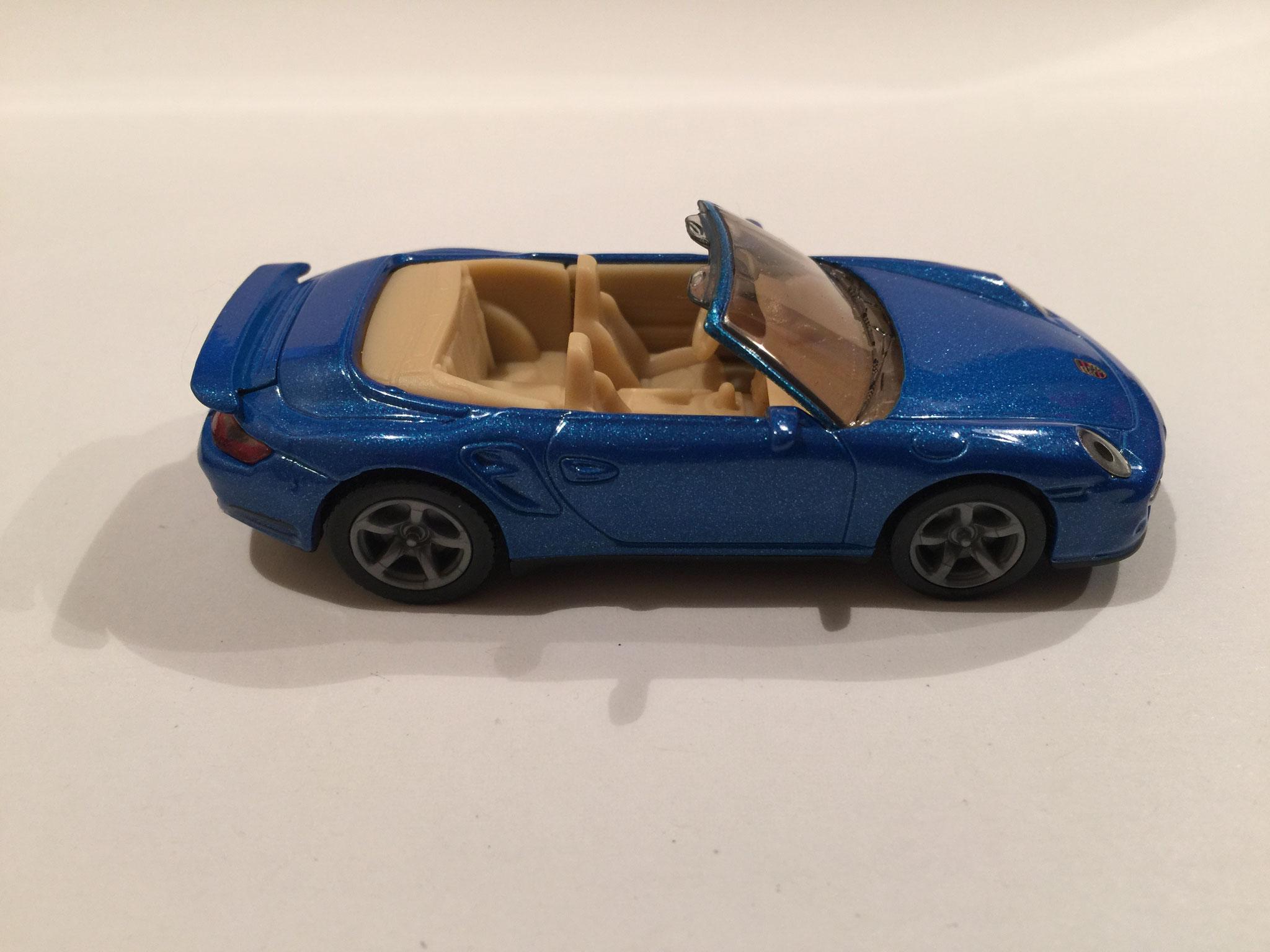 Porsche 911 Cabrio Nr.1337 blaumetallic